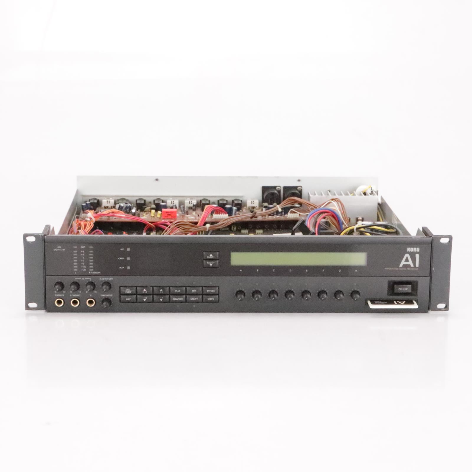 Korg A1 Performance Signal Processor Rackmount FX Effects Unit w/ Manuals #36742