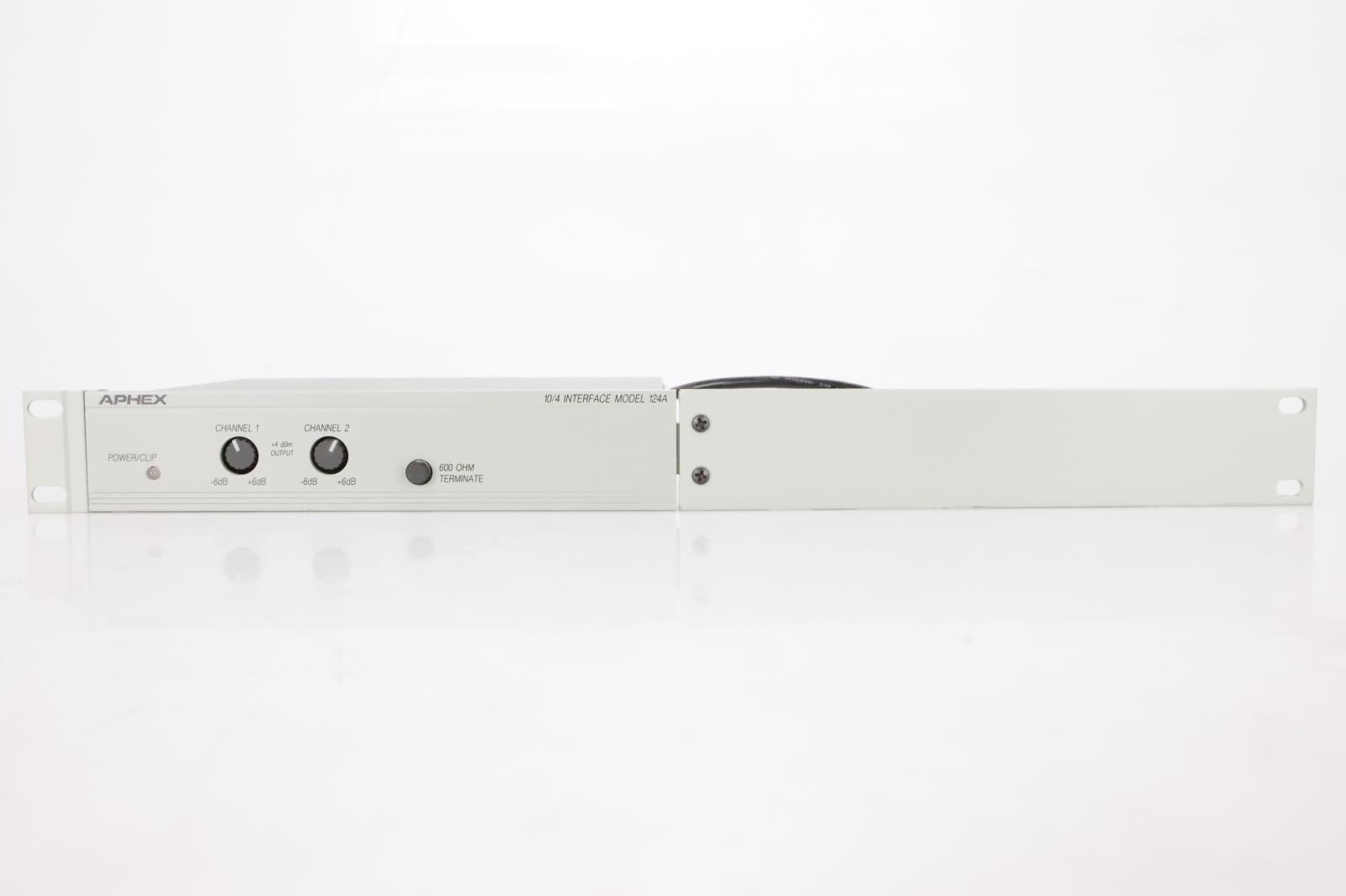 Aphex 124A 10/4 Audio Level Interface w/ Rack Ear #36811