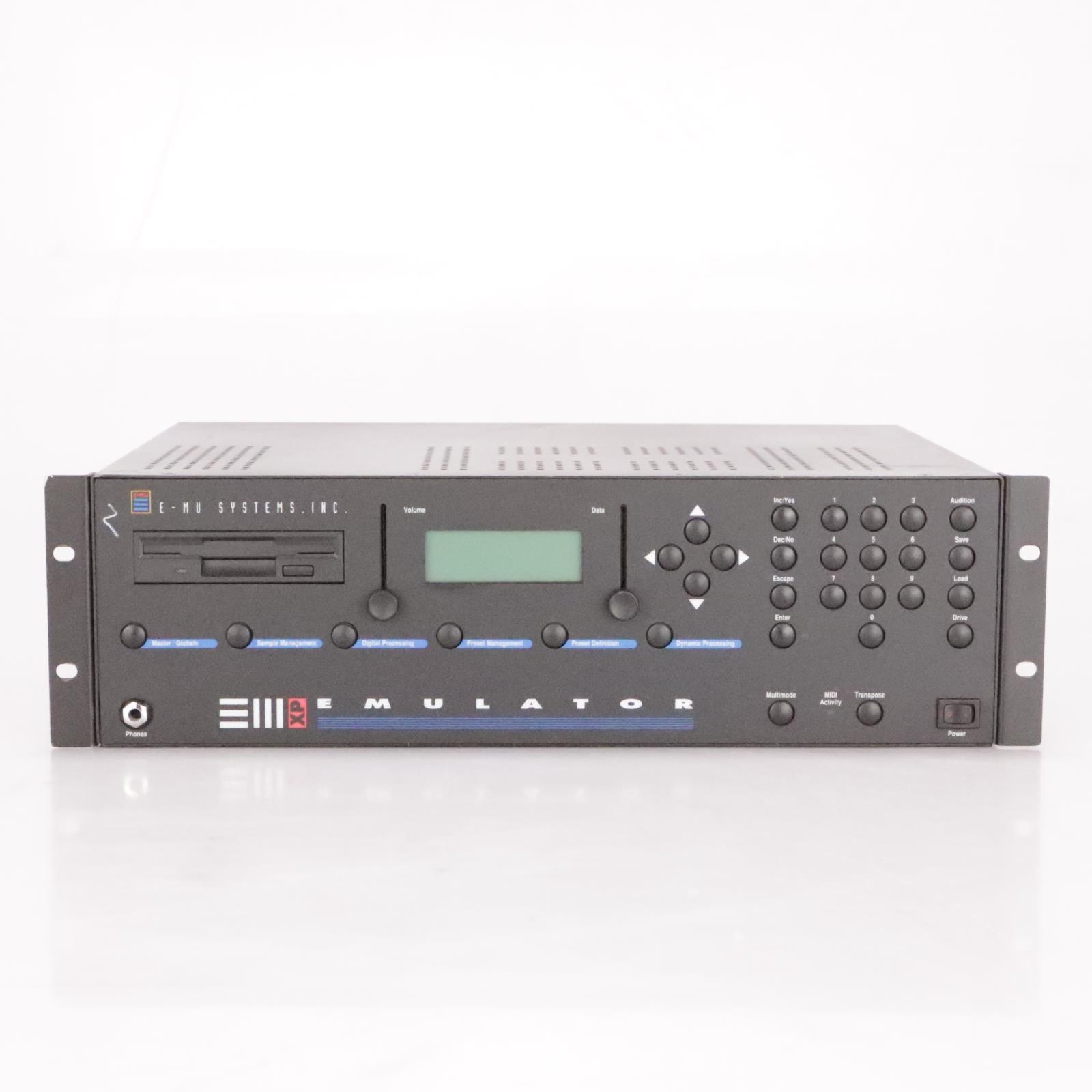 E-Mu EIIIxp Emulator 6100 Rack Sampler E3XP EIII XP III 3 #36872