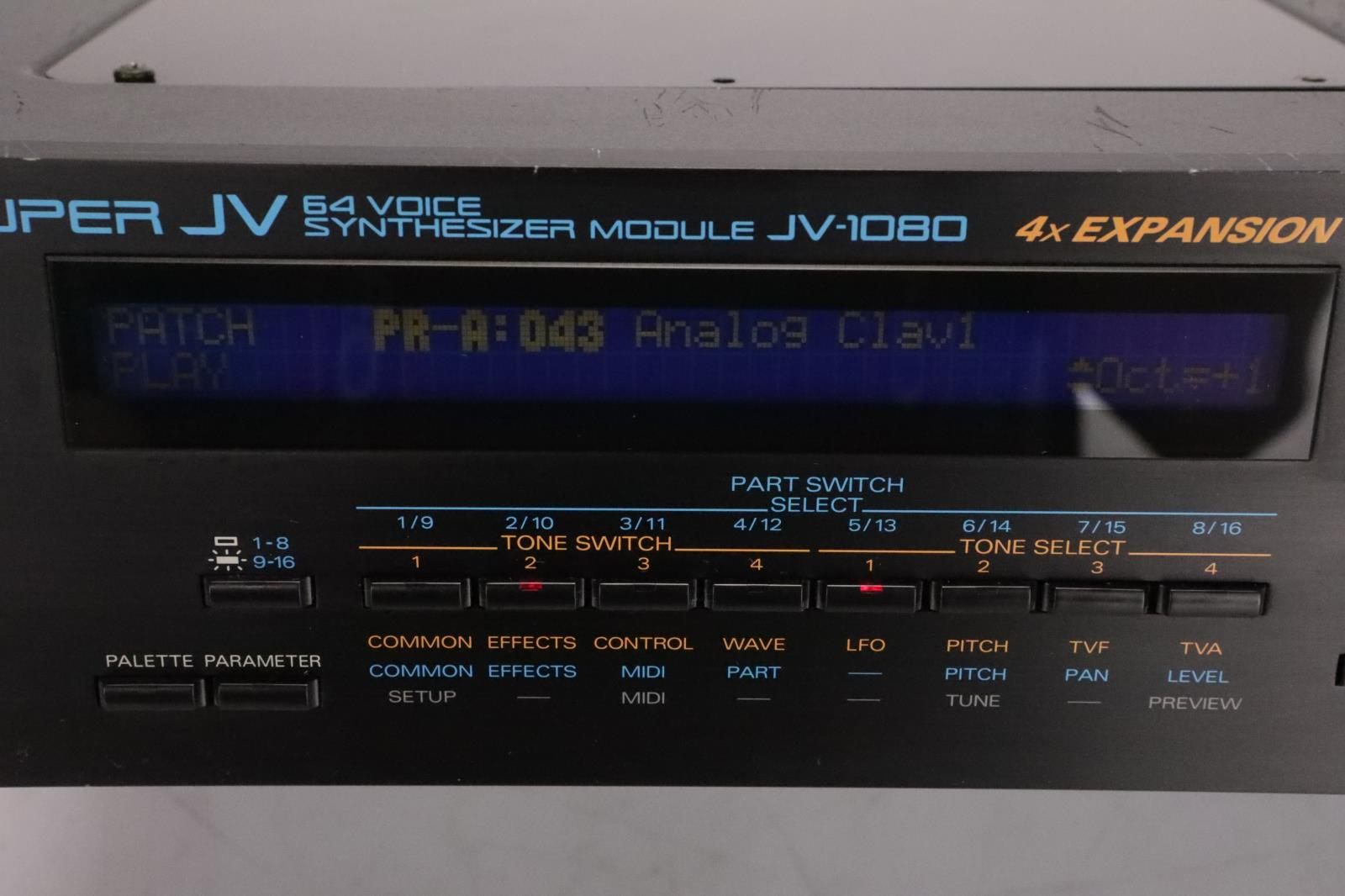 Roland Super JV JV-1080 64-Voice Synthesizer MIDI Sound Module #36987
