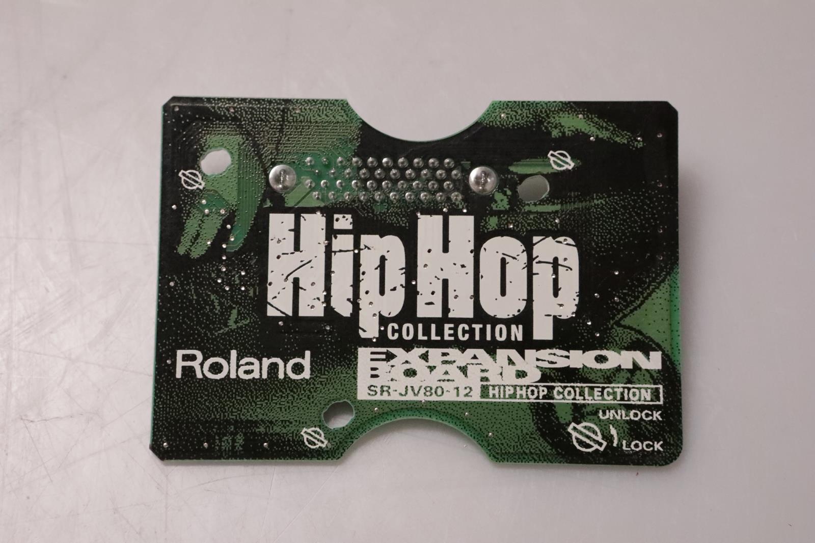 Roland SR-JV80-12 Hip Hop Collection Expansion Board Sound Card SRJV8012 #37019