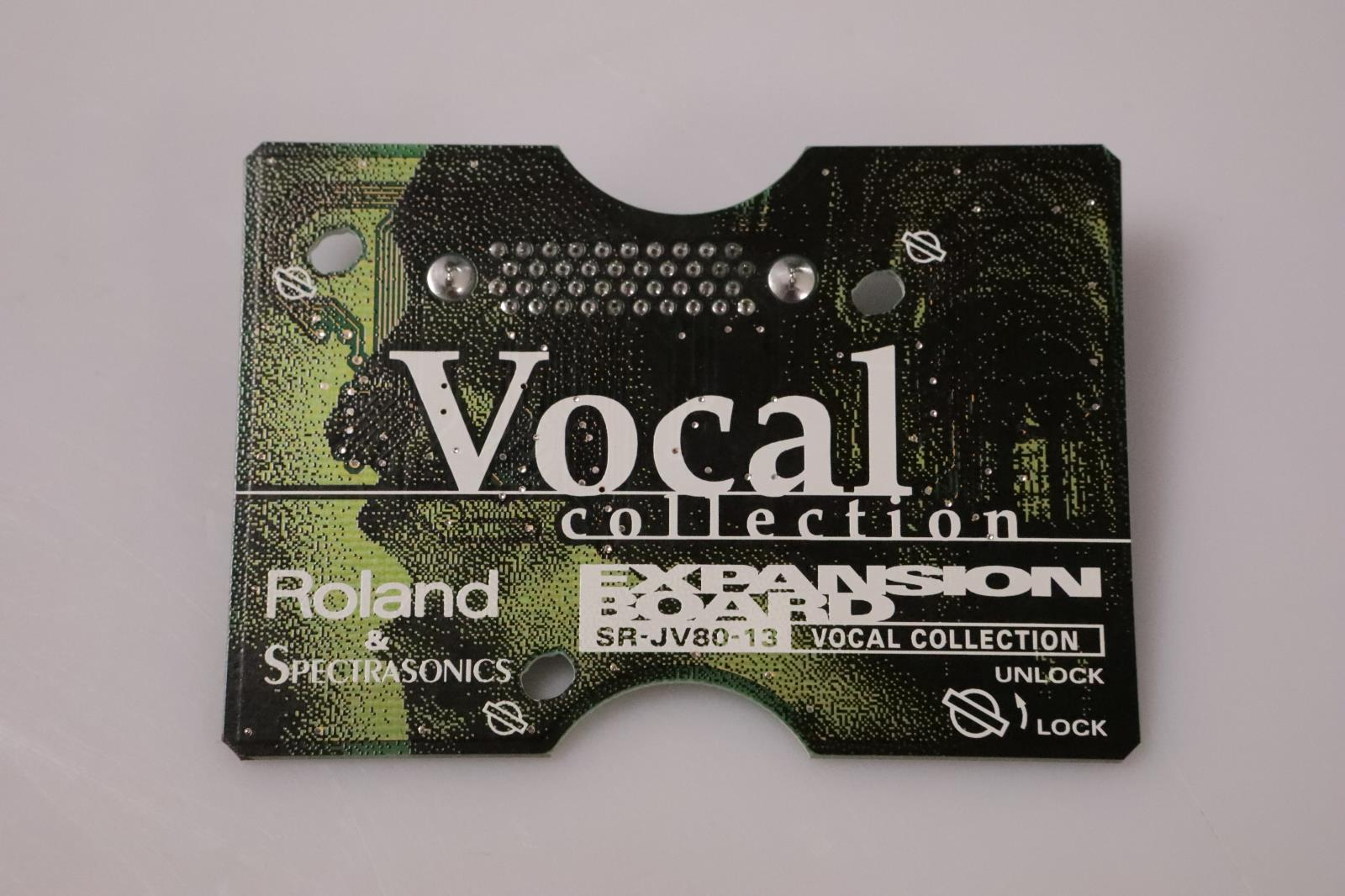 Roland SR-JV80-13 Vocal Collection Expansion Board Sound Card SRJV8013 #37020