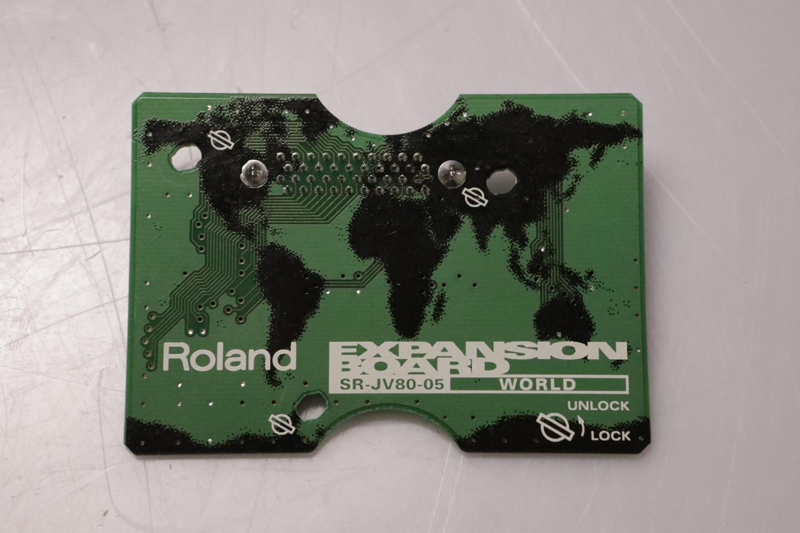 Roland SR-JV80-05 World Expansion Board Sound Card SRJV8005 #37008