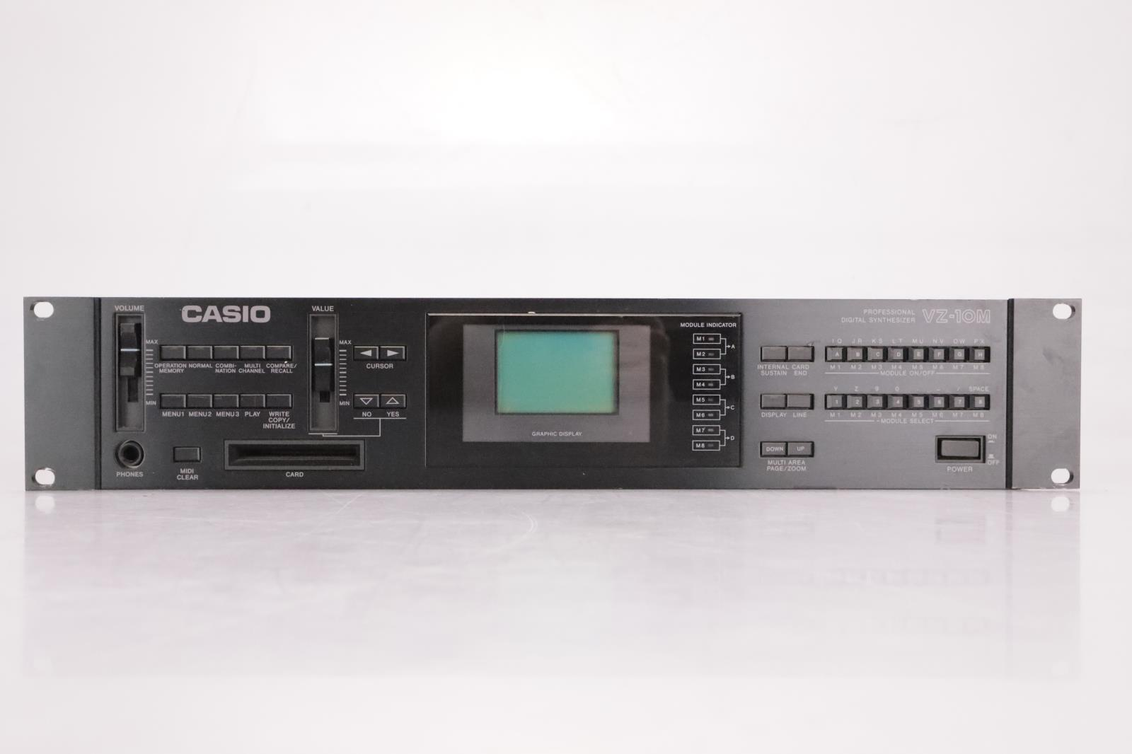Casio VZ-10M Professional Digital Synthesizer Rack #37038