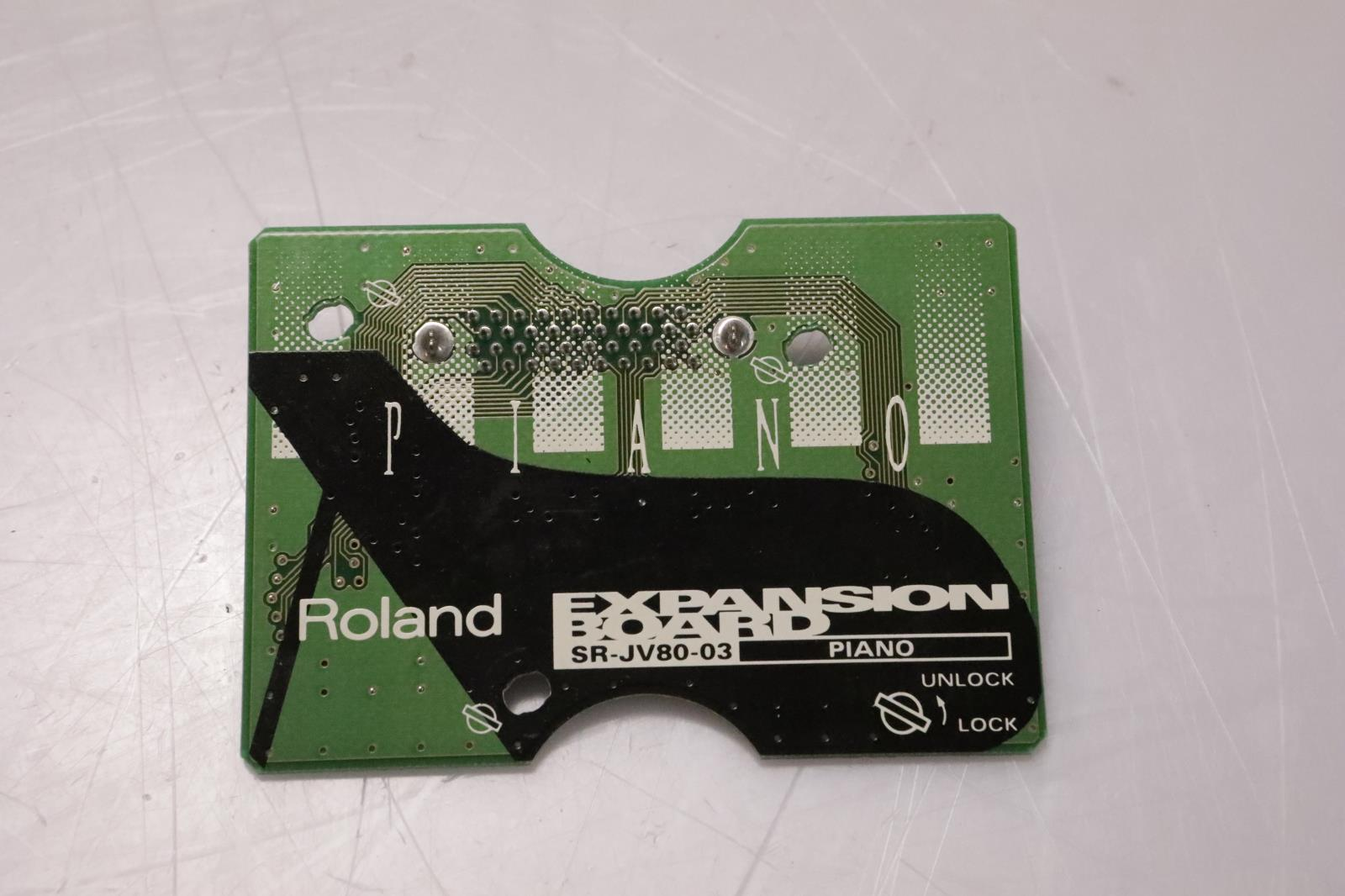 Roland SR-JV80-03 Piano Expansion Board Sound Card SRJV8003 #37005