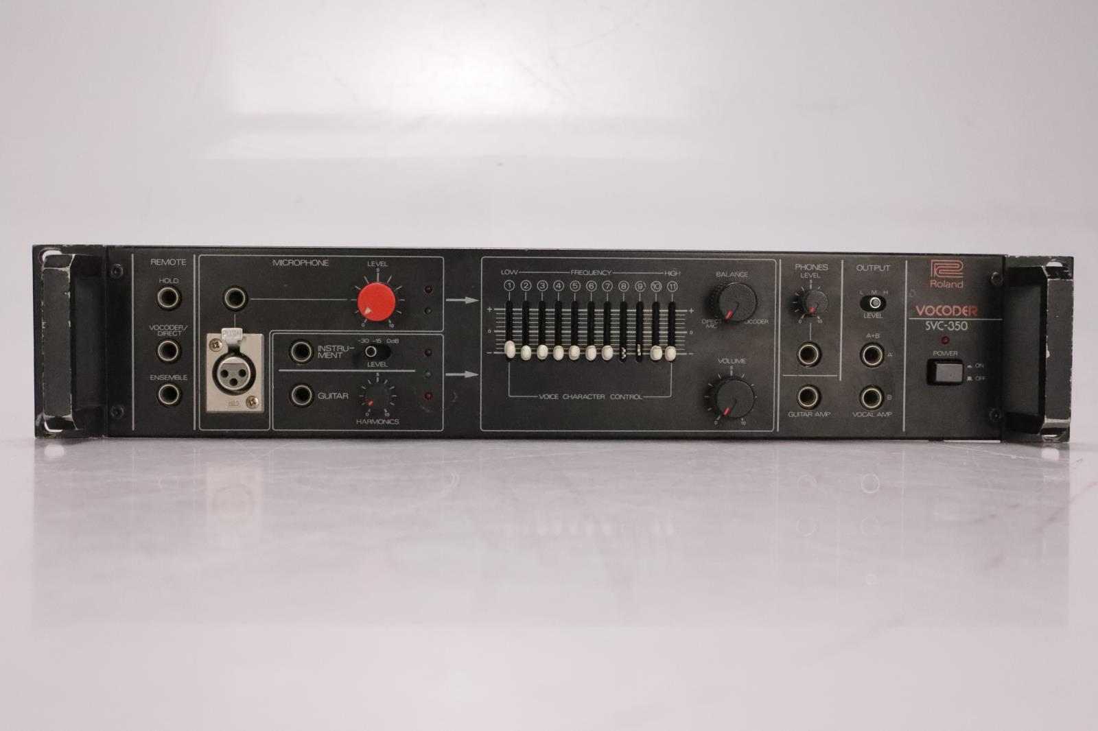 Roland SVC-350 Vocoder 11 Band Vocal Analog Processor #36978