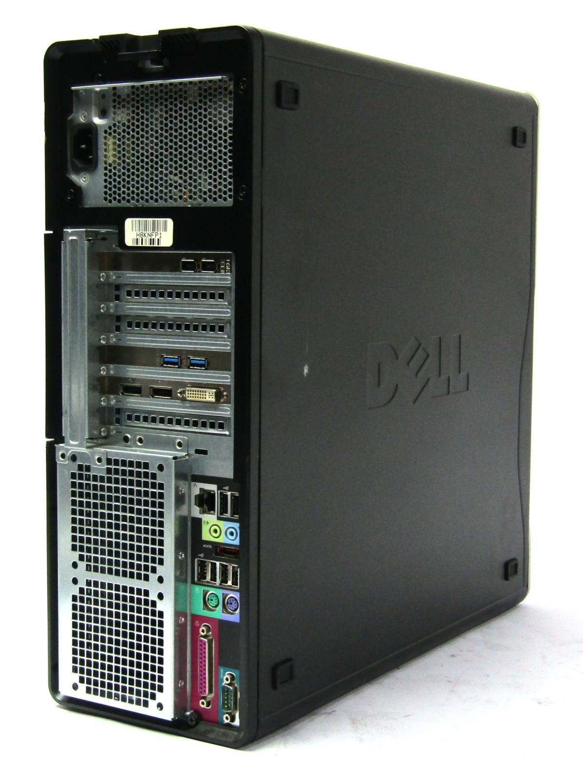 Details about Dell Precision T3500 Workstation | 2 80GHz Quad Core Xeon  W3530 | 12gb | DVD-RW