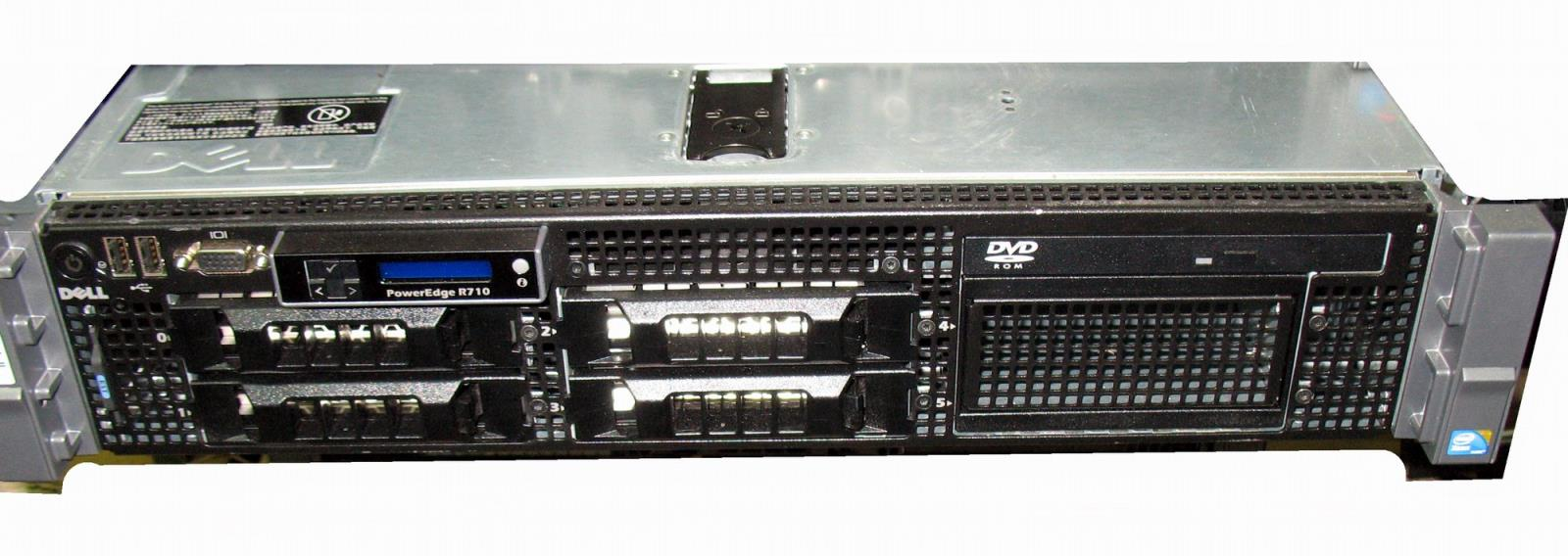 High-End Virtualization ESXi VMware Server 12-Core X5650 72GB RAM 12TB H700  Raid Dell PowerEdge R710