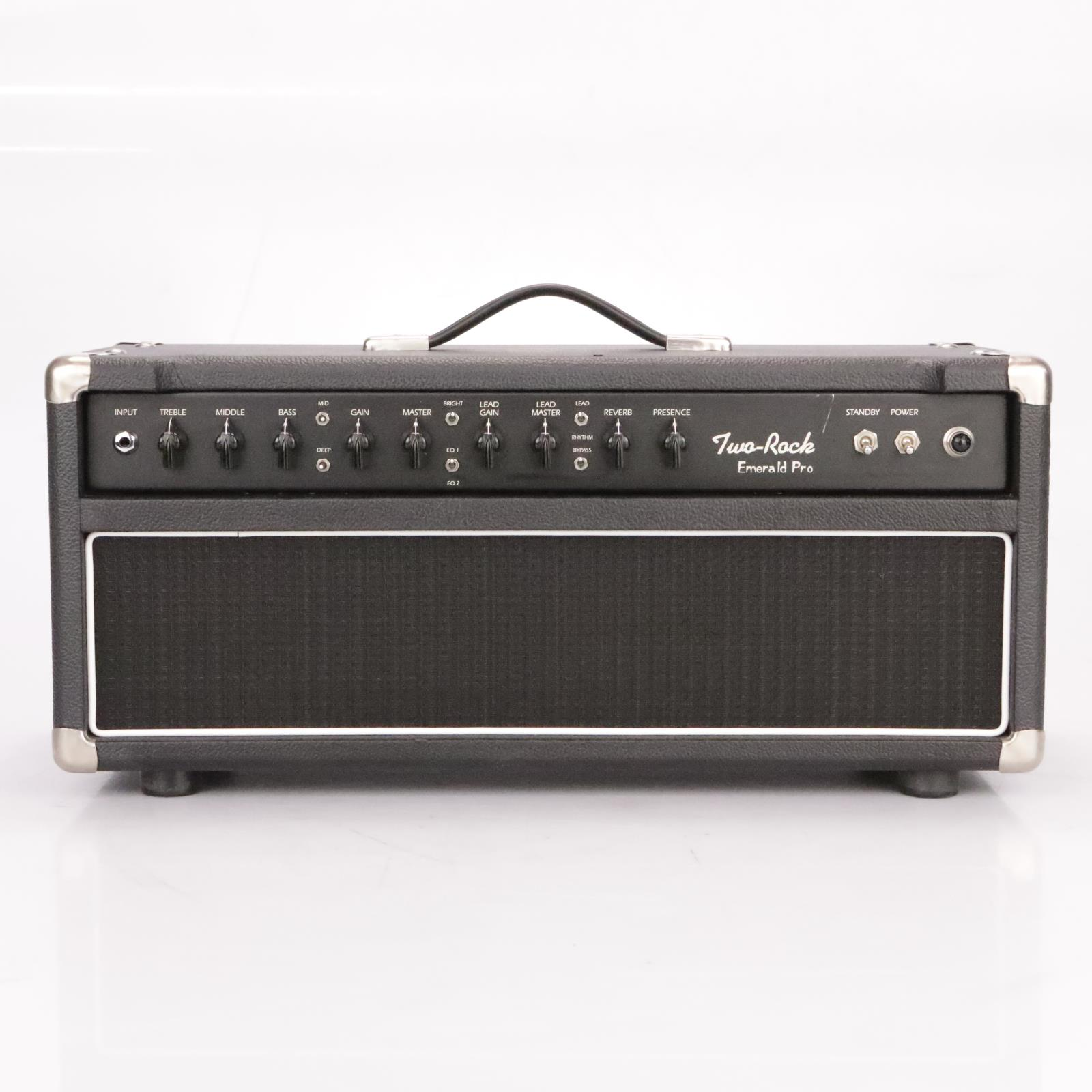Two Rock Emerald Pro 50w Tube Guitar Amplifier Head Amp RARE #37275
