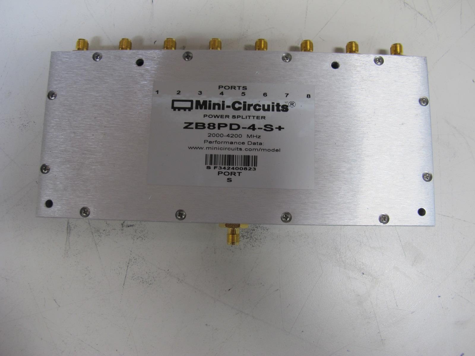 Splitter Combiner SMA 2000-4200MHz MINI-CIRCUITS ZB8PD-4 8-way Power