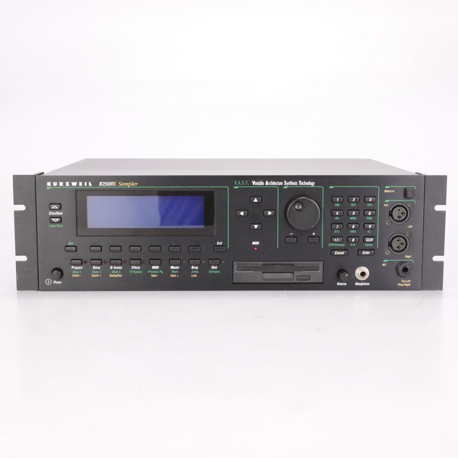 Kurzweil K2500RS Sampler Synthesizer MIDI Sound Module #37373