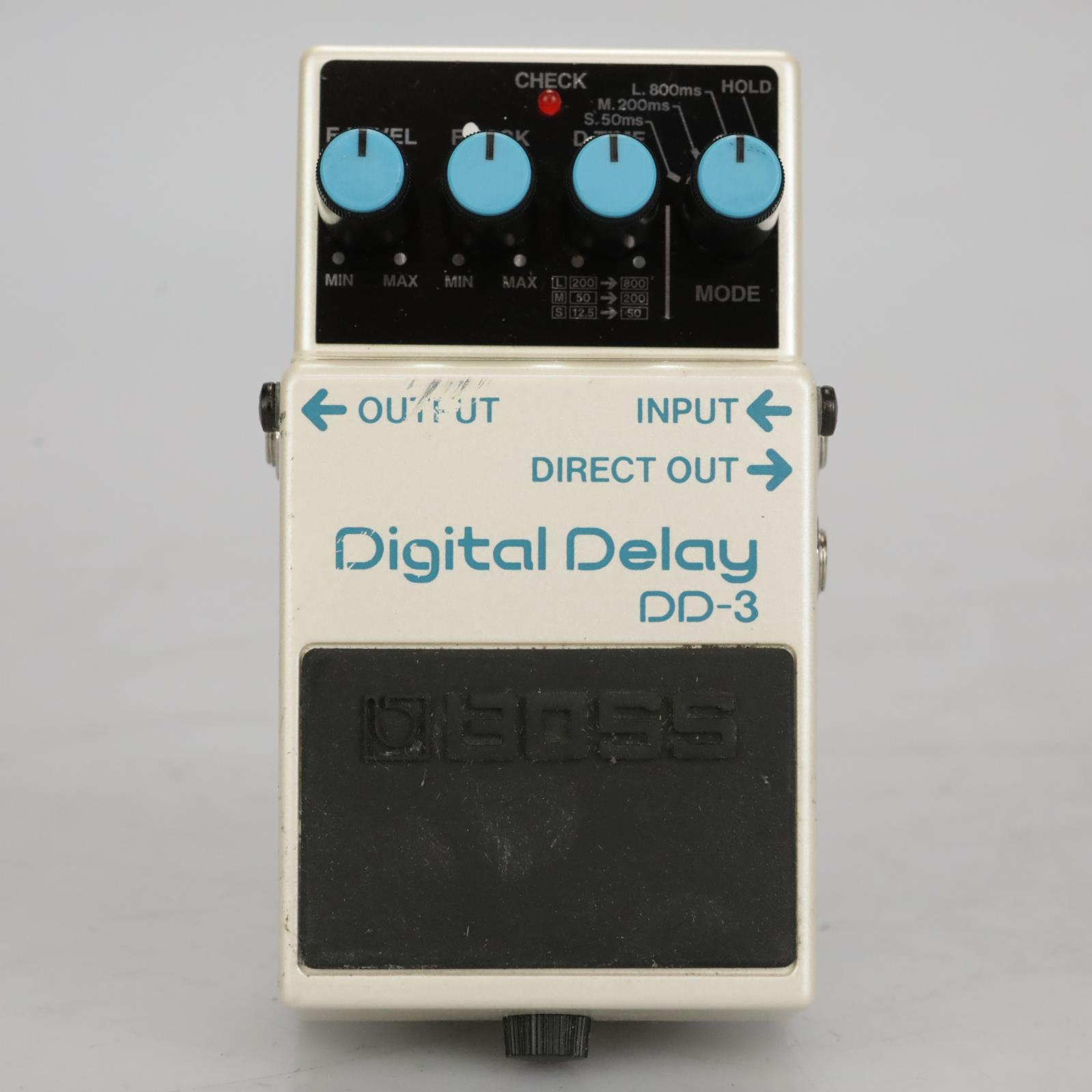 Boss DD-3 Digital Delay Guitar Effects Pedal Owned By Sick Puppies #37484
