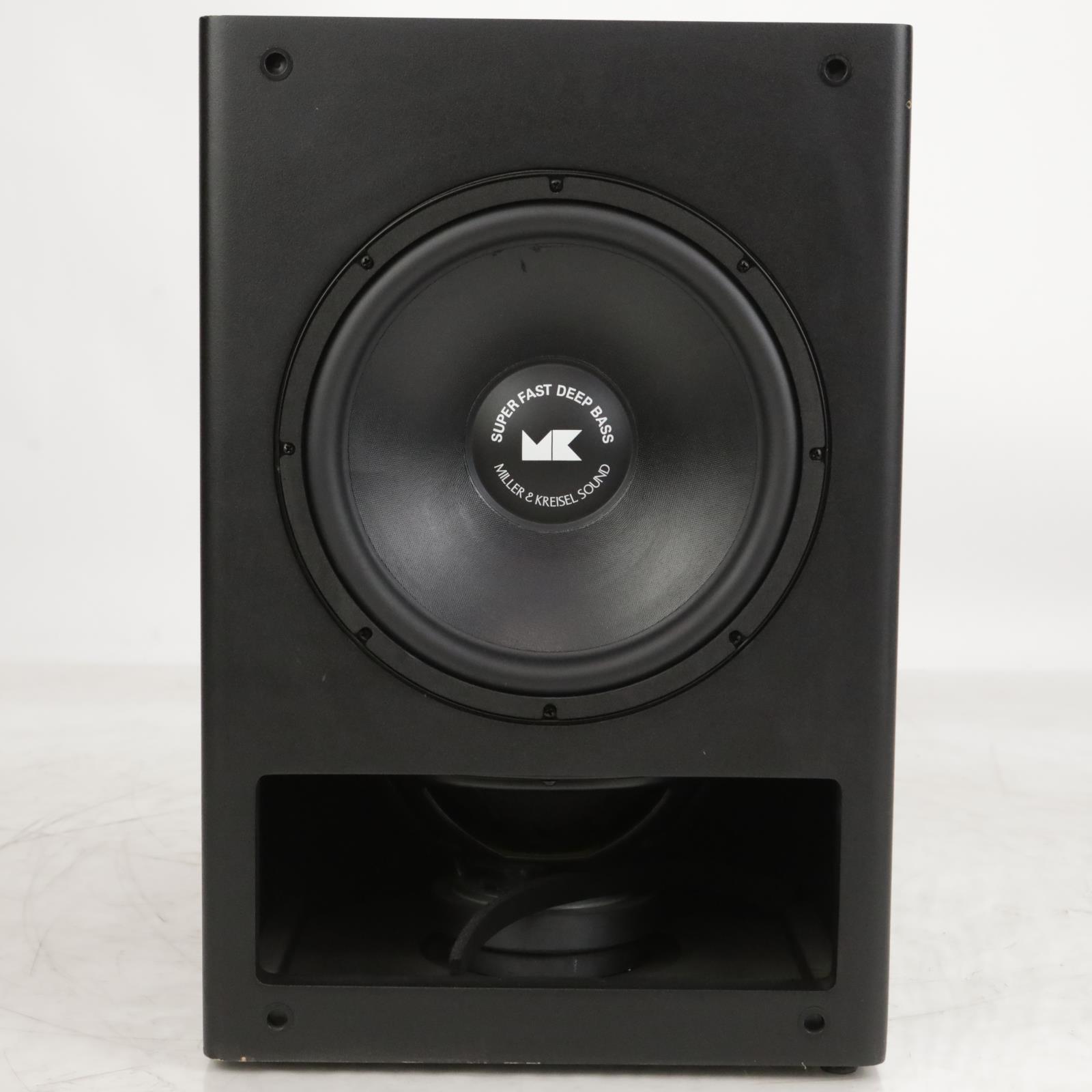 M&K Miller & Kreisel MPS-5410 Powered Studio THX Subwoofer Sub Speaker #37559