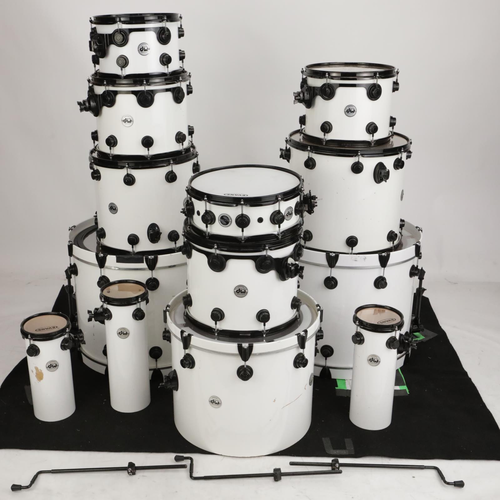 13pc DW Collector's Custom Maple Drum Kit VLT VLX X-Shell Roy Mayorga #37620