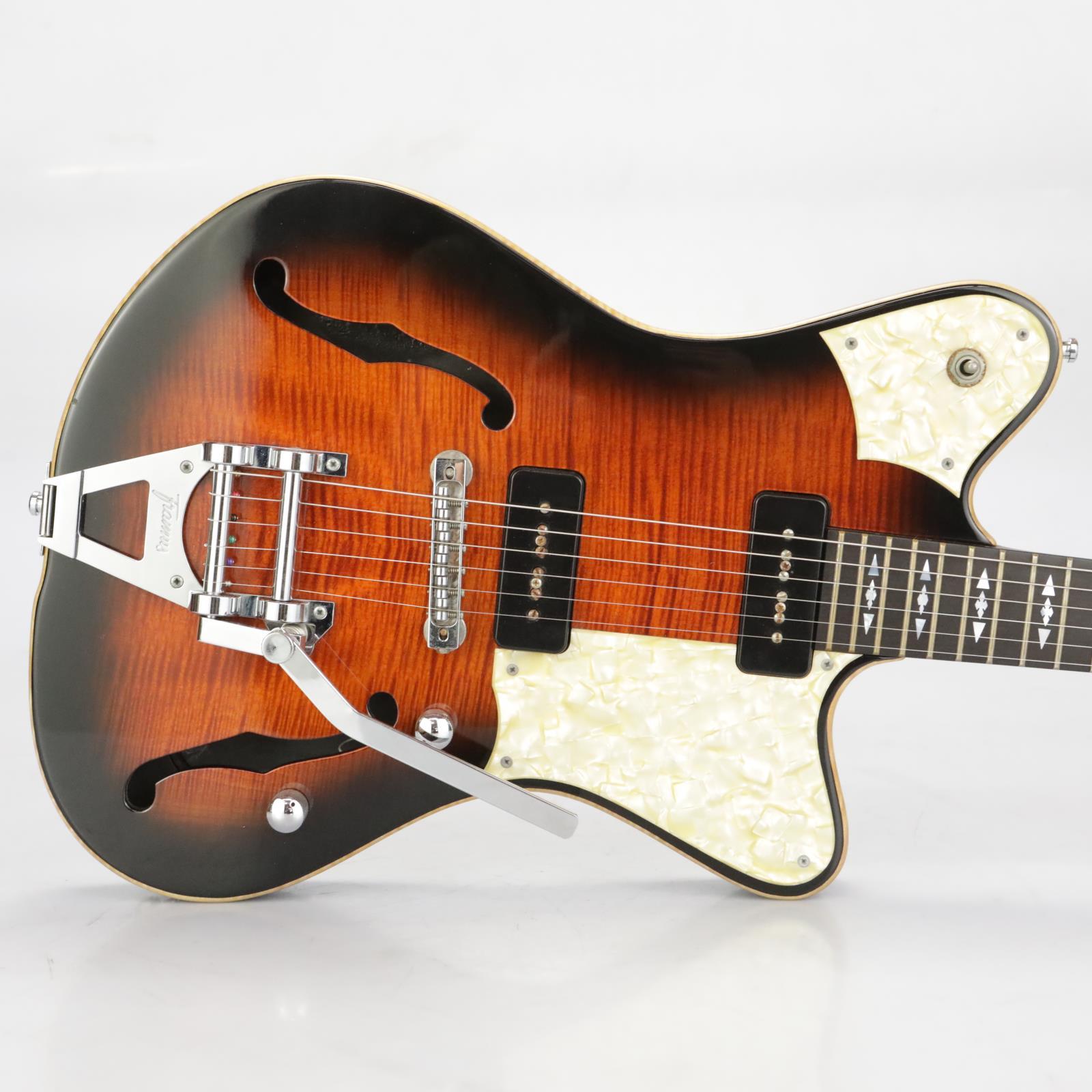 Framus Hollywood Custom Semi-Hollow Electric Guitar w/ Warwick Rockcase #37600