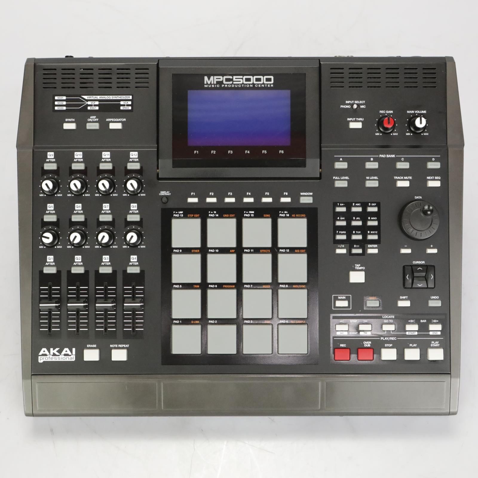 Akai MPC 5000 MPC5000 Sequencer & Sampler Used by The Black Eyed Peas #37601