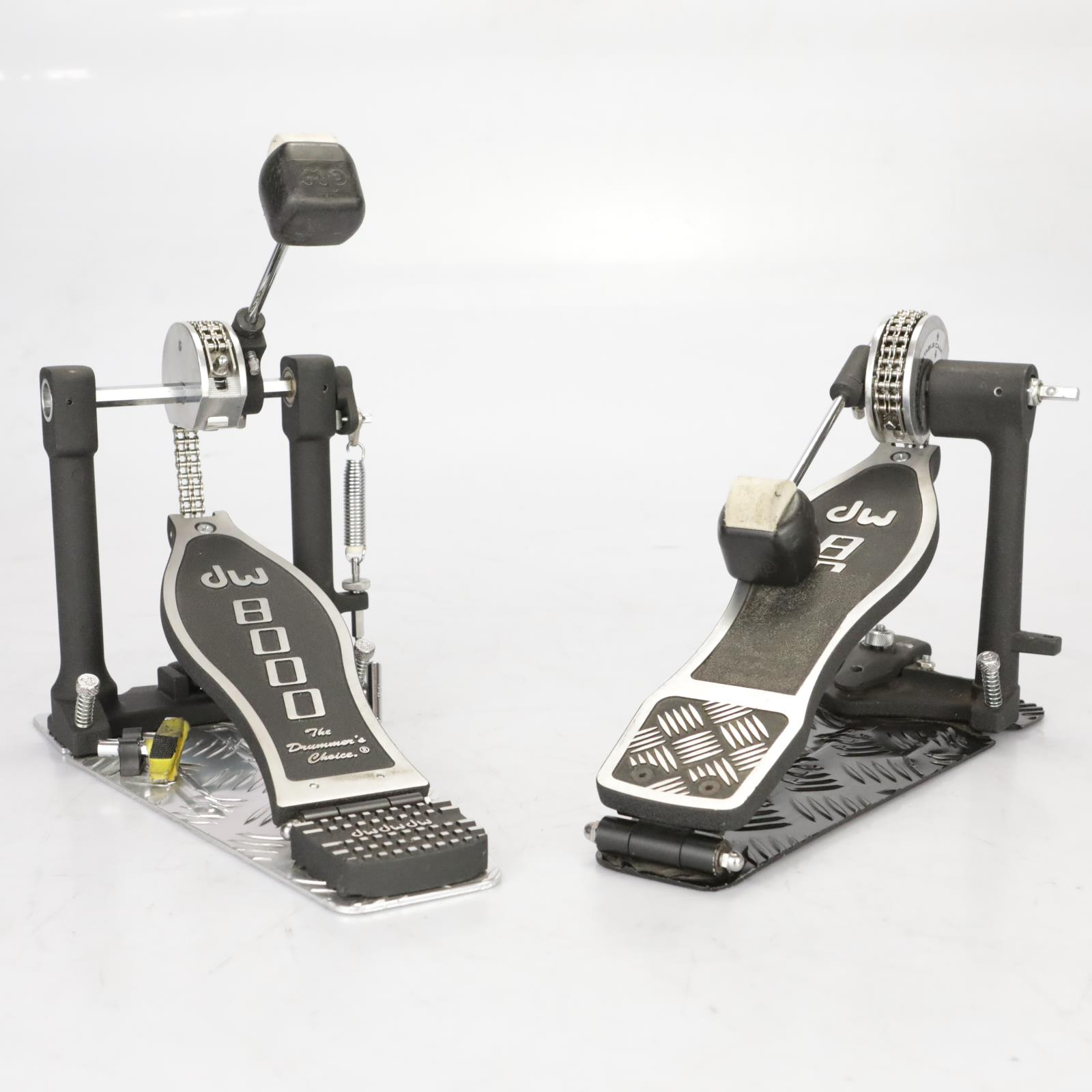 DW 8000 Kick Drum Double Pedals w/ Case owned by Roy Mayorga #37635