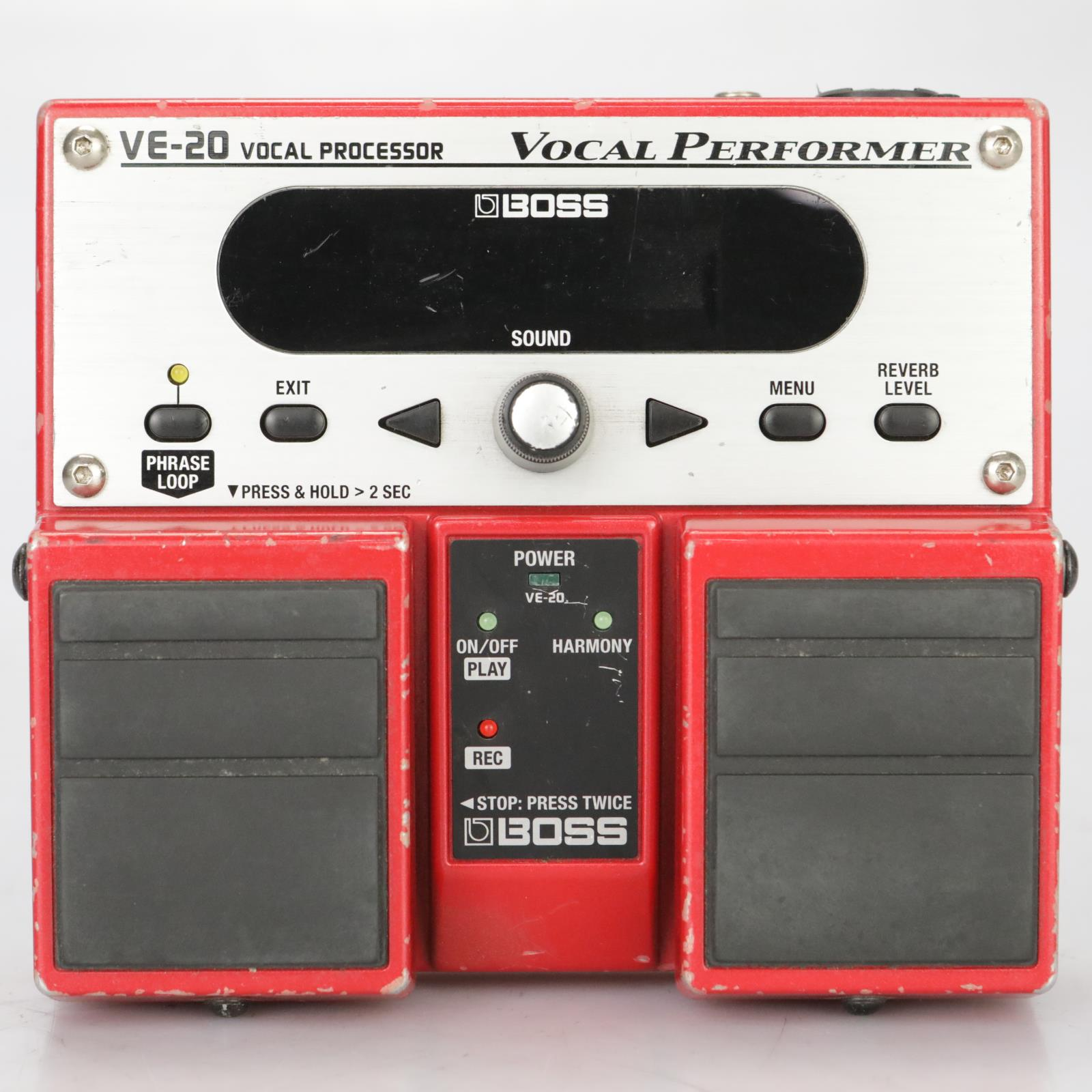 Boss VE-20 Vocal Processor Multi Effect Pedal #37664
