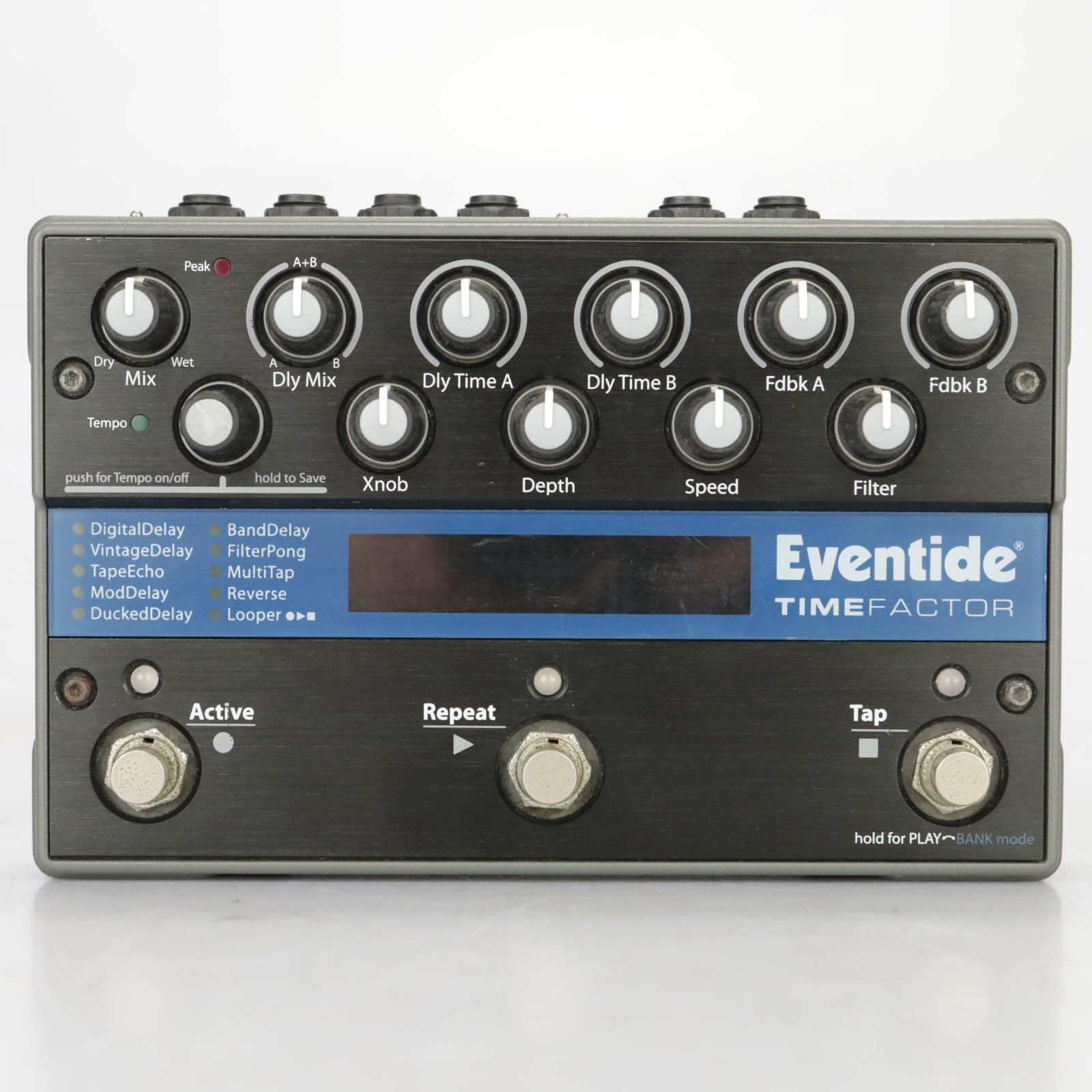 Eventide TimeFactor Digital Delay Looper Guitar Pedal Warren Cuccurullo #37743
