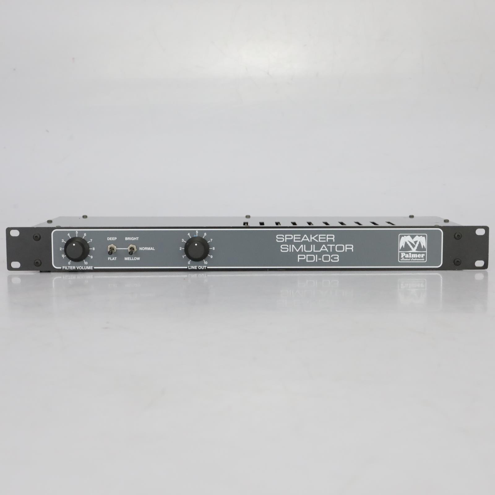 Palmer Speaker Simulator PDI-03 Guitar DI Splitter Interface #37735