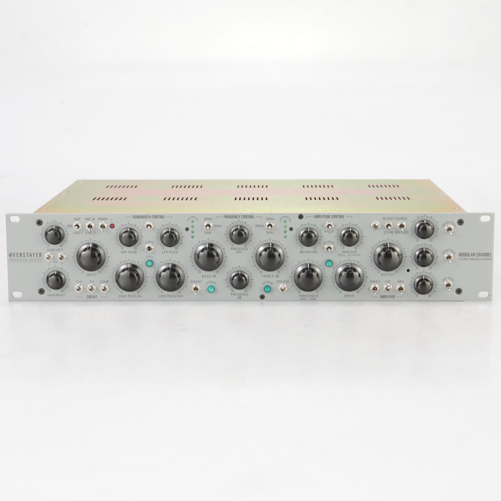 Overstayer Modular Channel Stereo Model 8755DM #37861