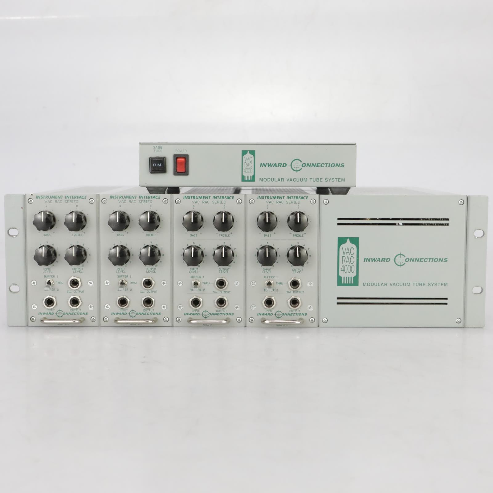 Inward Connections VAC RAC 4000 w/ 4 Instrument Interface Modules & PSU #37871
