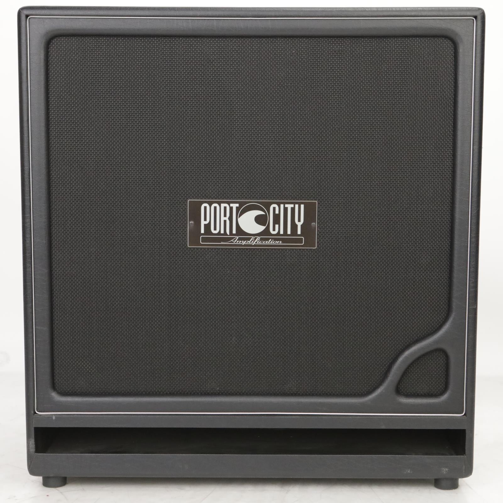 "Port City Amps 4x12"" Wave Cab Guitar Amplifier Speaker Cabinet #37814"