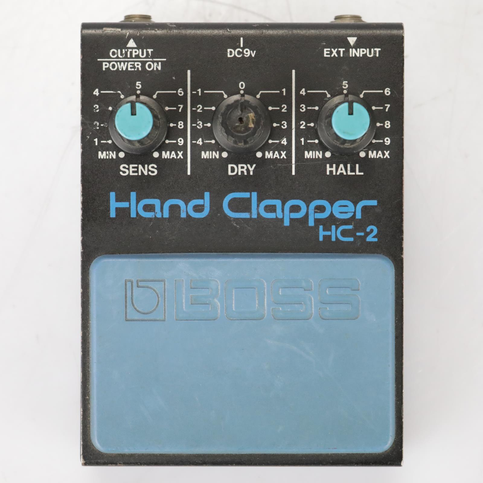 Roland HC-2 Hand Clapper 808 Percussion Clap Synth Foot Pedal #37934