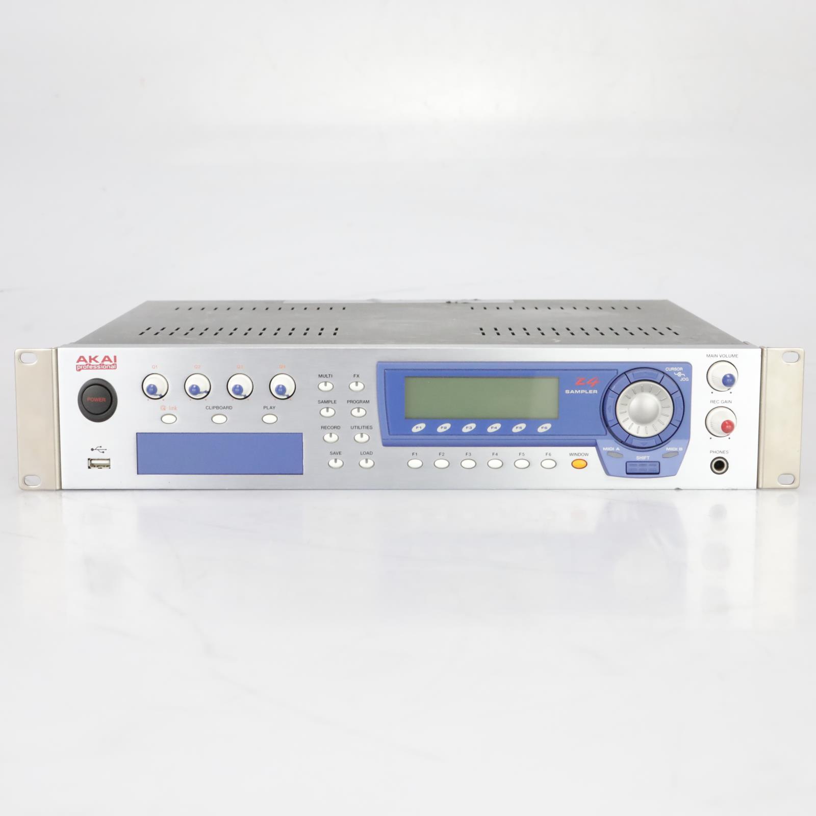 Akai Z4 Sampler 64-Voice USB 24-Bit/96kHz owned by Weezer #37895