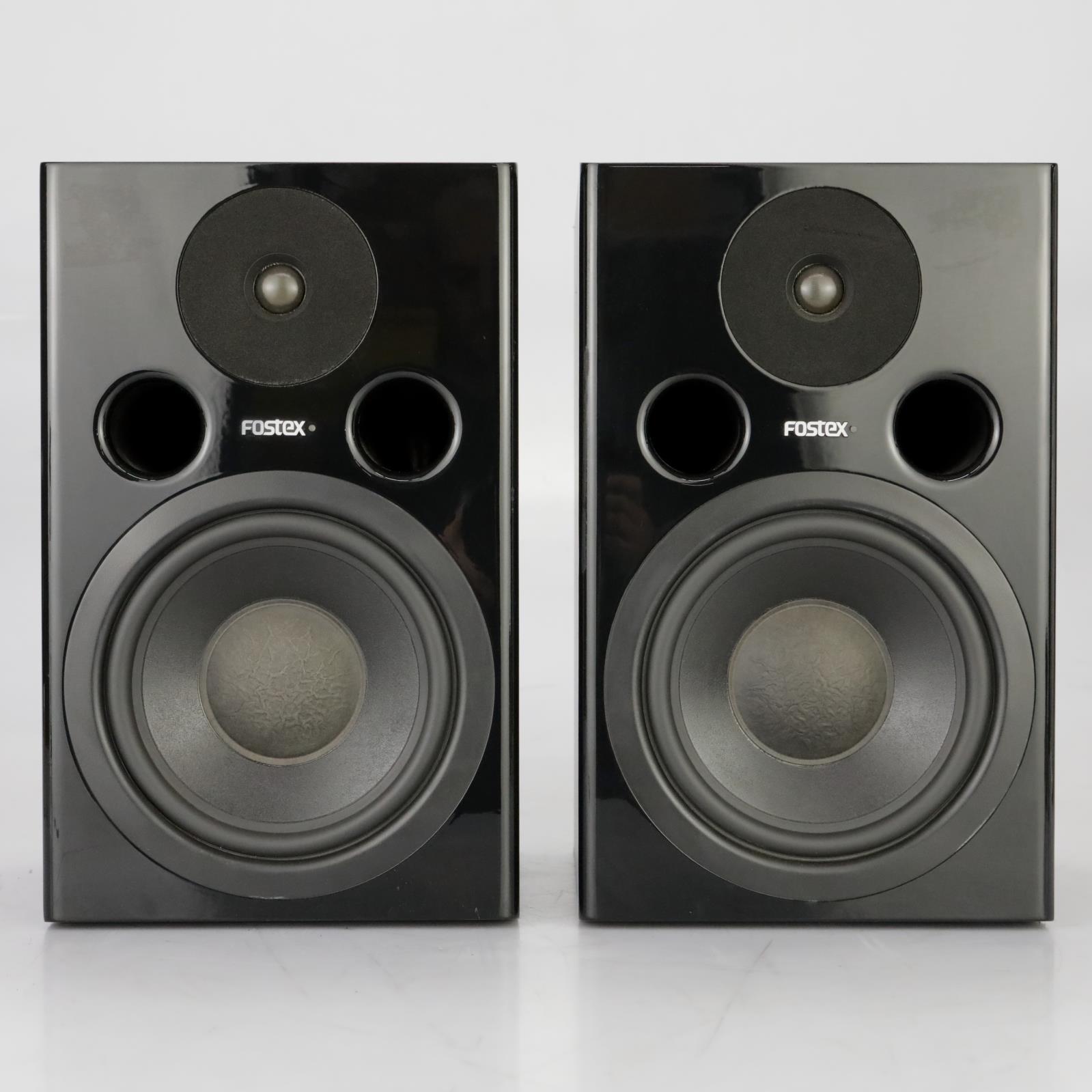 Fostex PM-2 MkII Active Studio Monitors Speakers Powered #37922