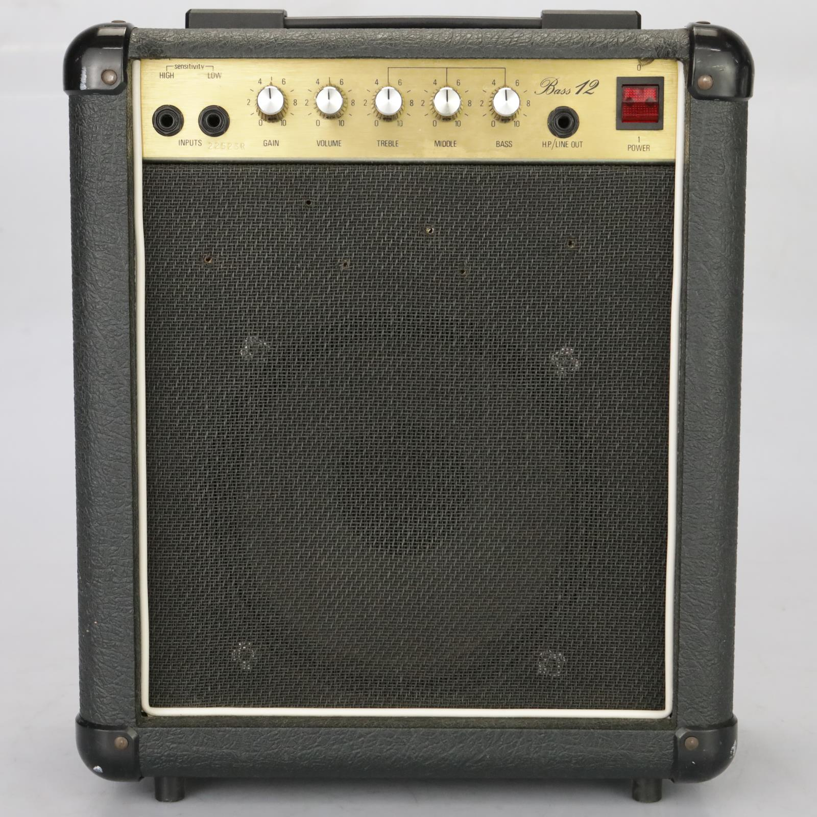"1983 Marshall Model 5501 Bass 12 12w 1x10"" Combo Amplifier Practice Amp #38004"