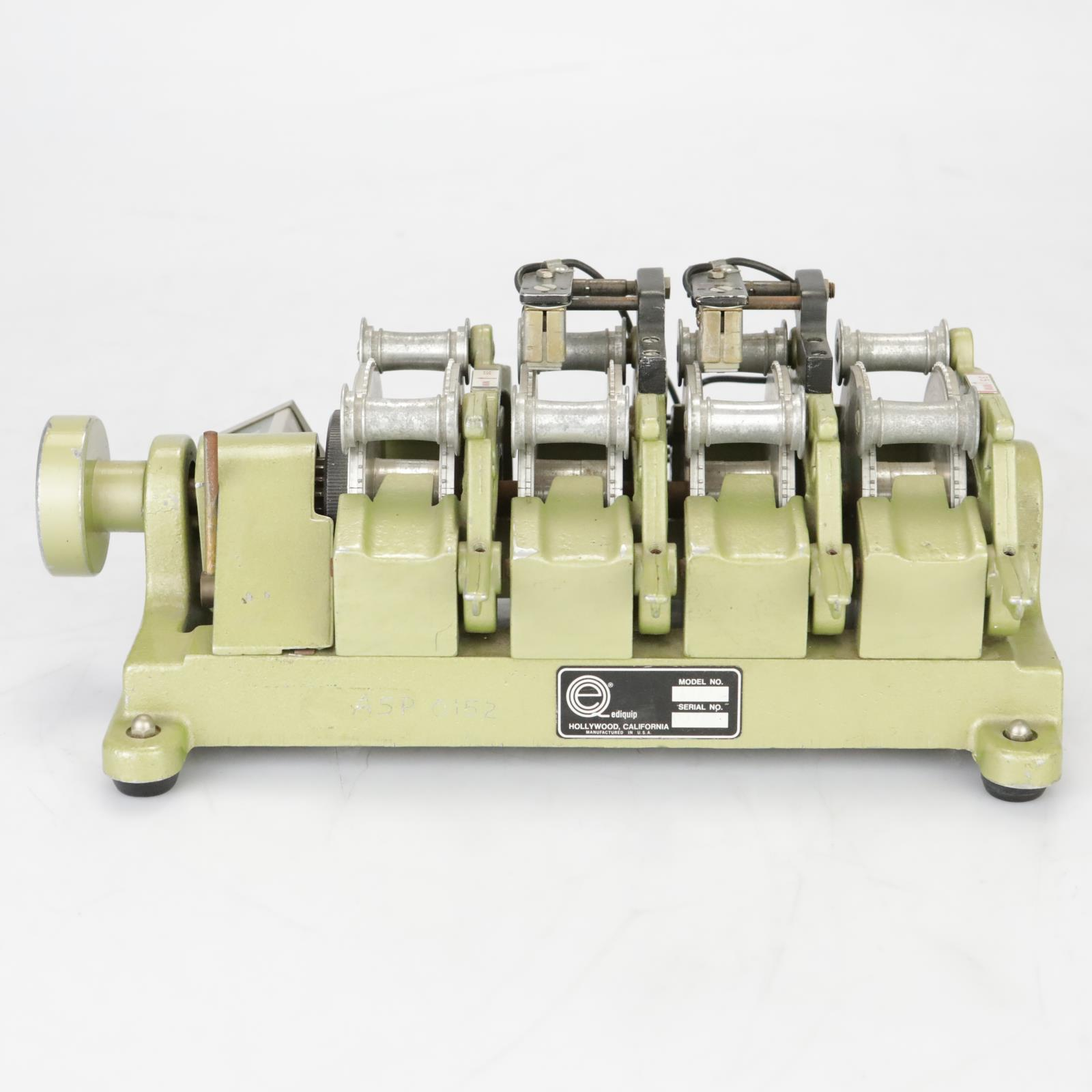 Ediquip 1044 Film Gang Synchronizer Editing Machine 4 #38014