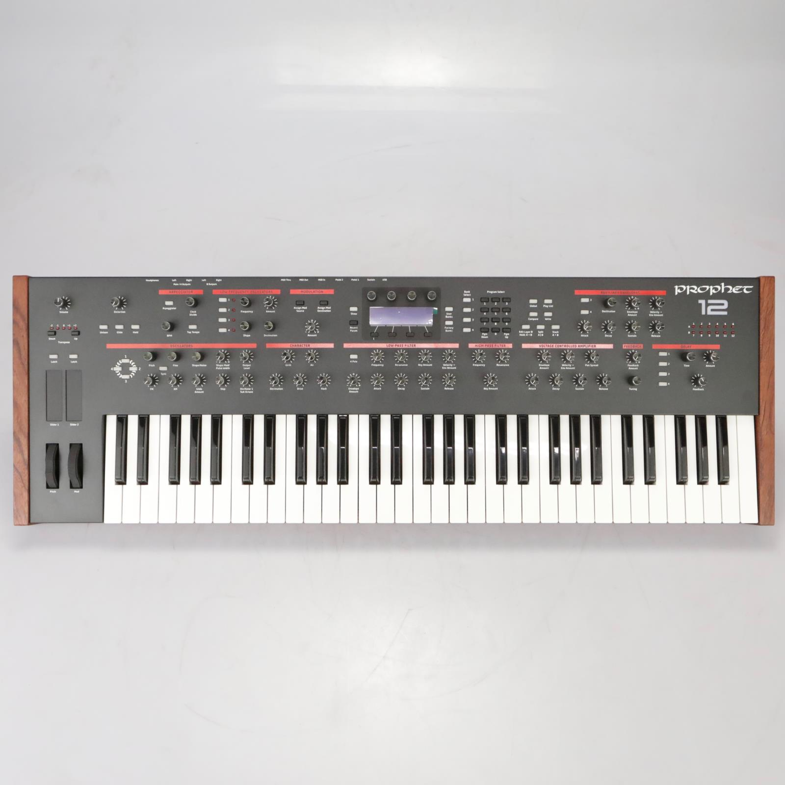 Dave Smith Instruments DSI Prophet 12 Keyboard Synthesizer Synth #38067