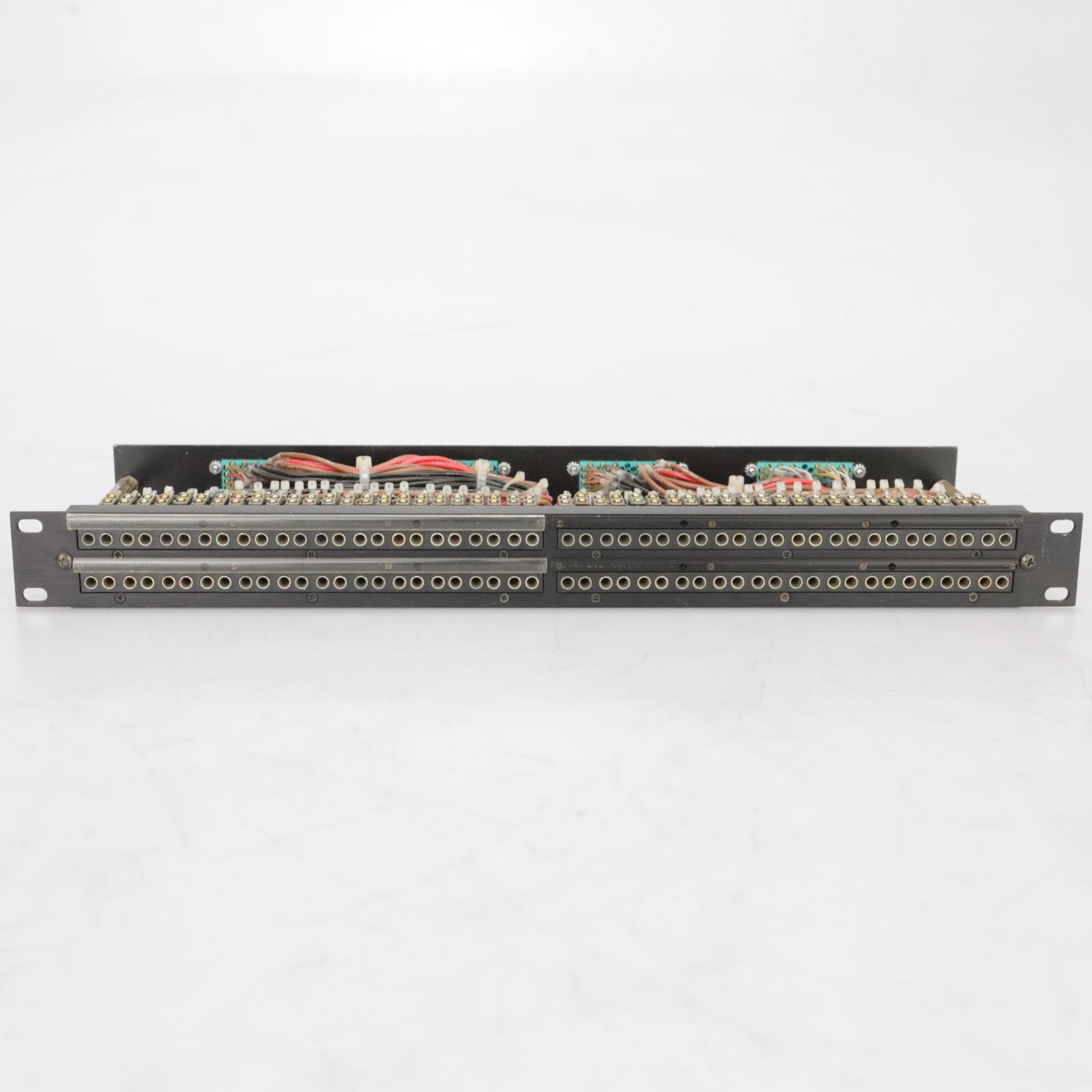 Switchcraft 96-point TT Patchbay Elco Mogami DB25 TRS XLR Snakes #37869