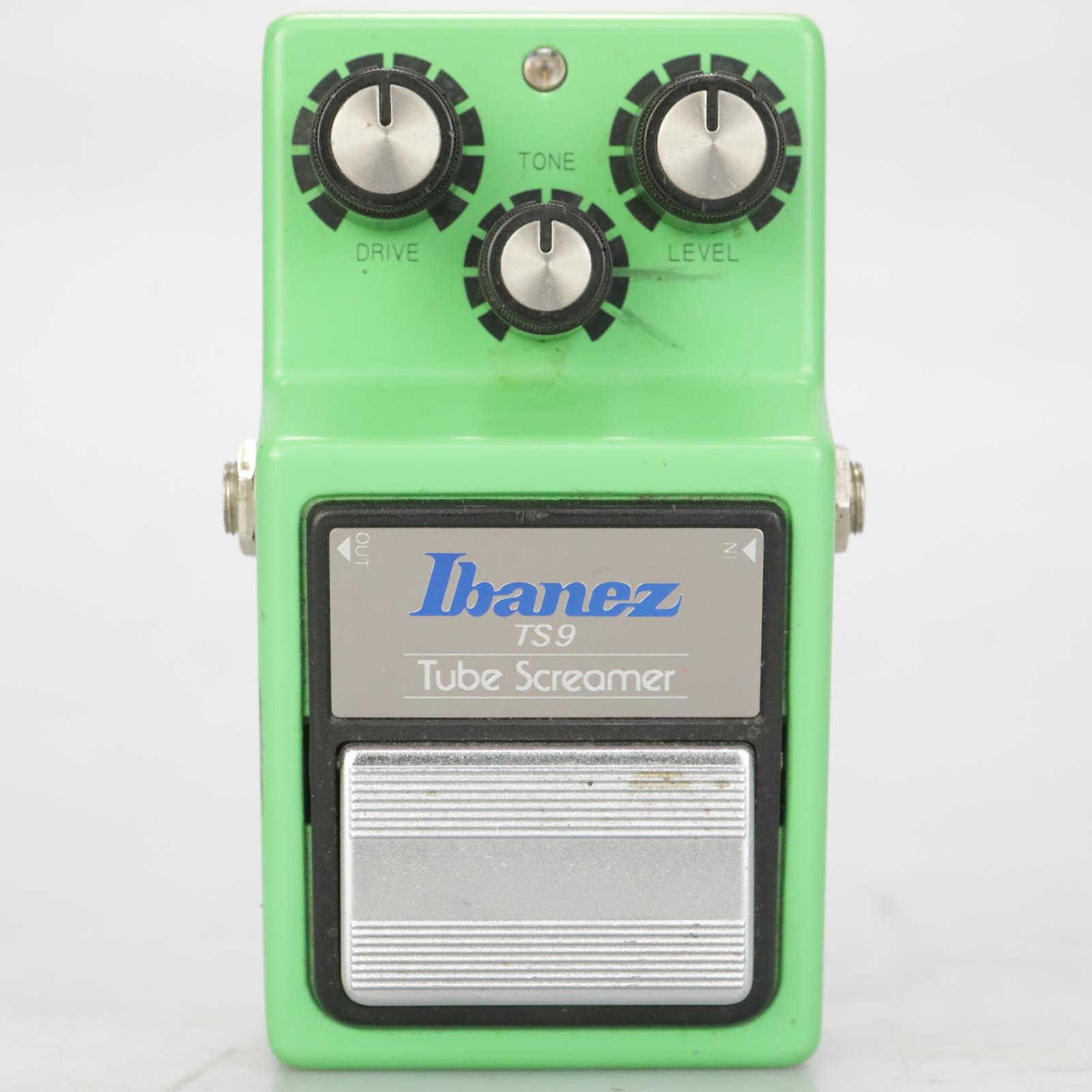 Ibanez TS9 Tube Screamer TA75558P Maxon Overdrive Guitar Effect Pedal #38313