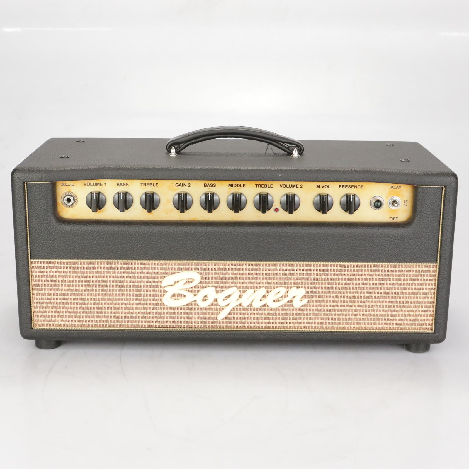 2005 Bogner Shiva Revision: Traffic Green EL34 80w Guitar Amplifier Head #38341