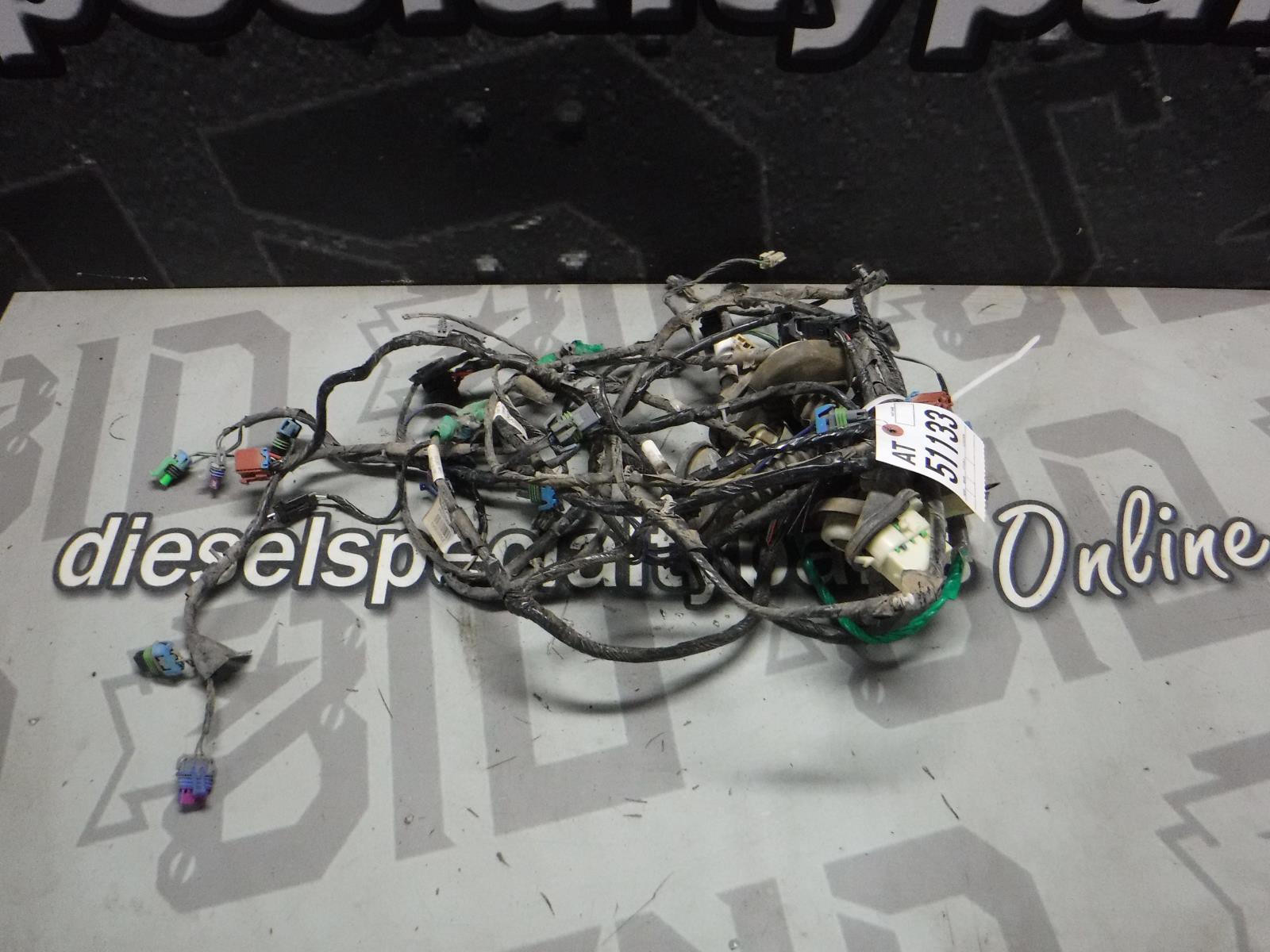 2004 - 2006 CHEVROLET GMC 2500 3500 SLT CREWCAB DOOR WIRING HARNESS (4) OEM  | eBayeBay