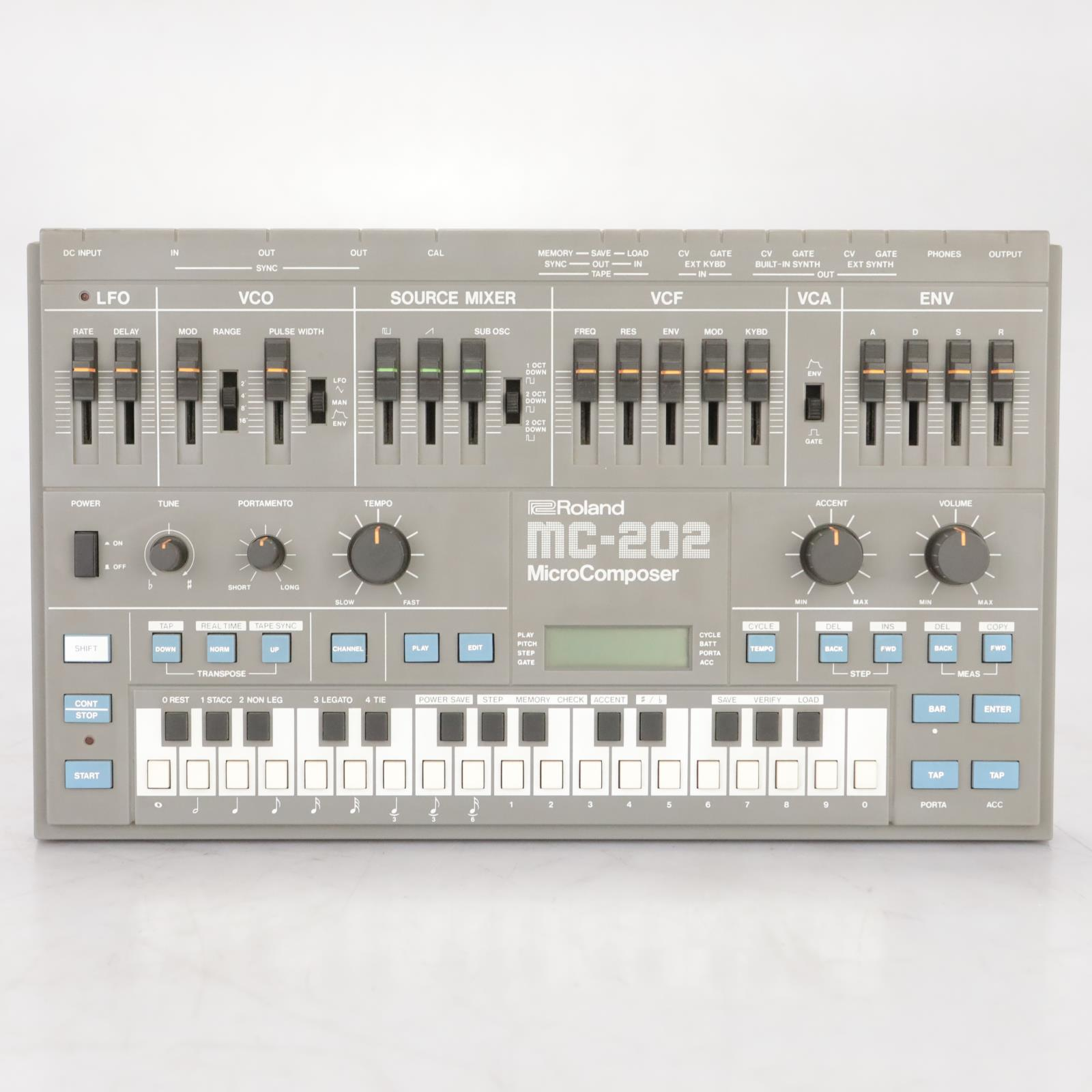 Roland MC-202 MicroComposer Synthesizer Sequencer #38503