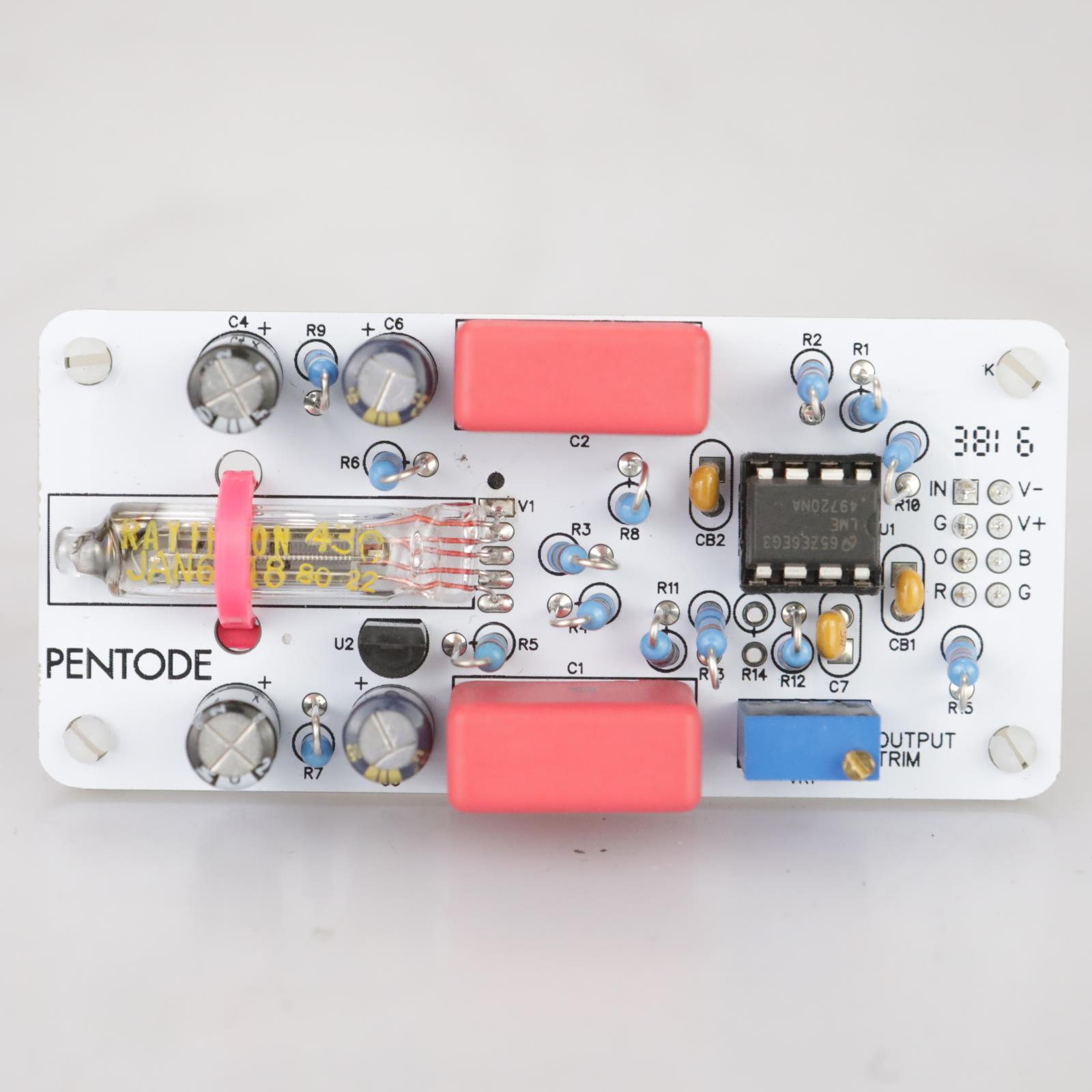 Louder Than Liftoff PENTODE for DIYRE Colour Palette 500 Series Module #38508