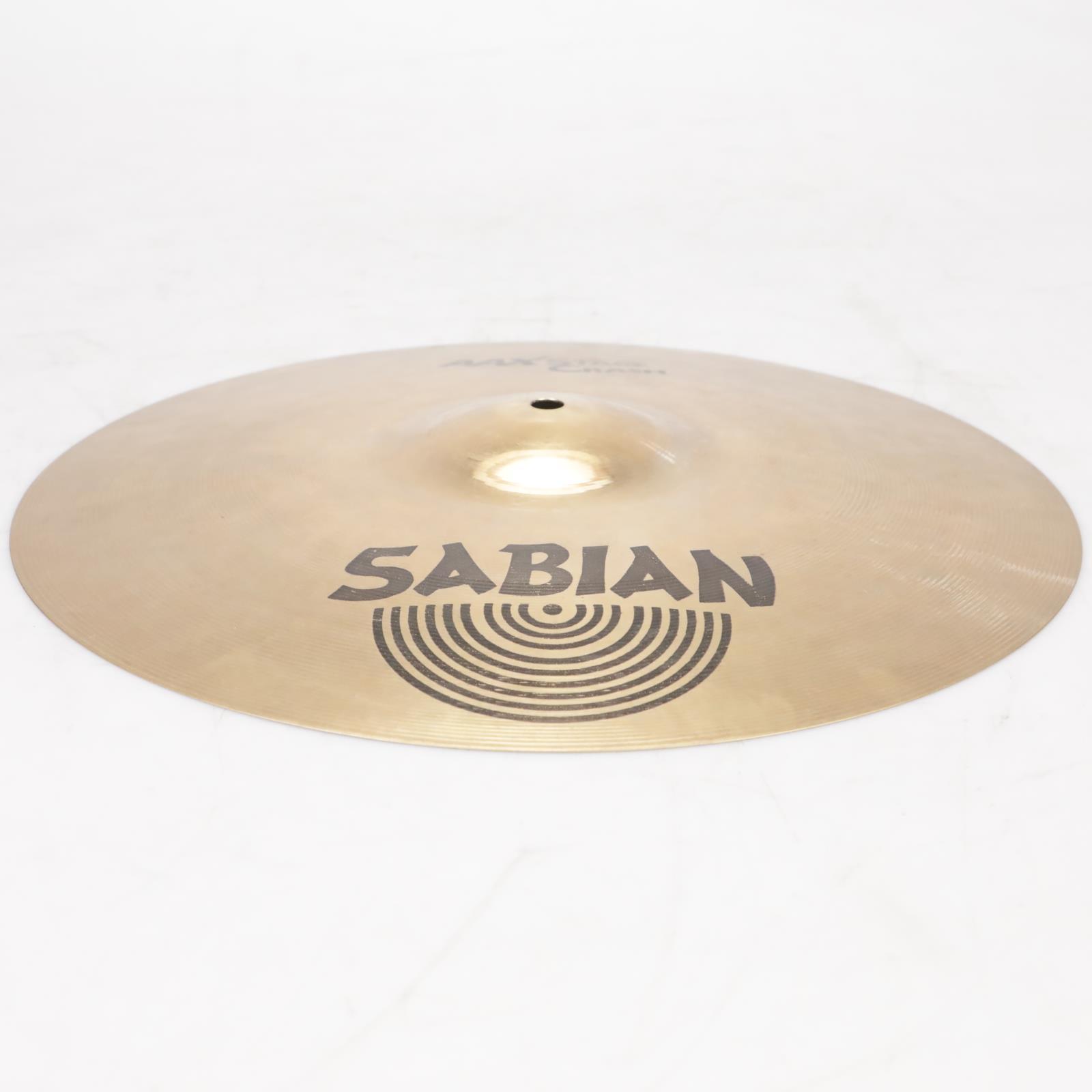 "16"" Sabian AAX Stage Crash Cymbal Drums #38580"