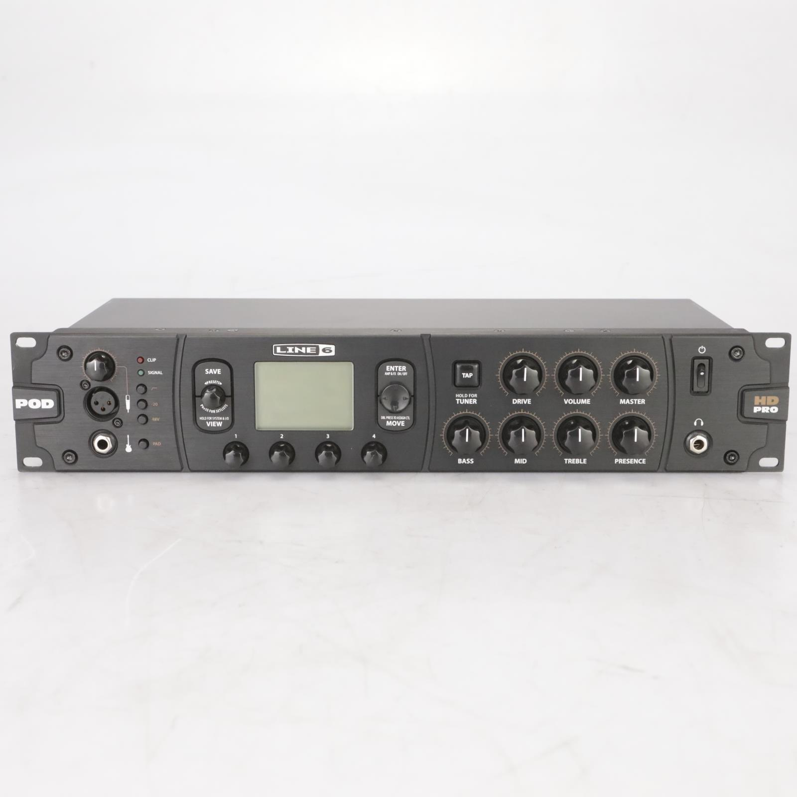 Line 6 POD HD Pro Amp Modeler Multi-Effects Processor Owned by Garbage #38600