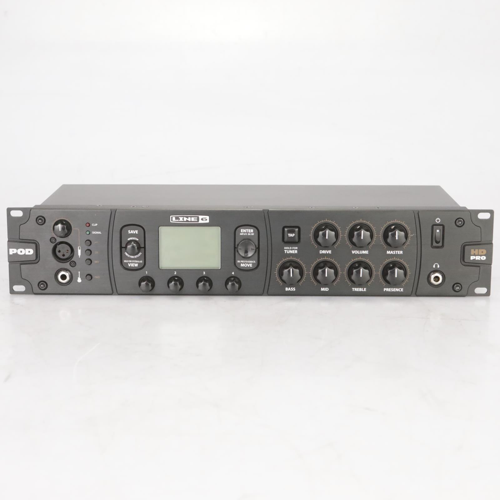 Line 6 POD HD Pro Amp Modeler Multi-Effects Processor Owned by Garbage #38607