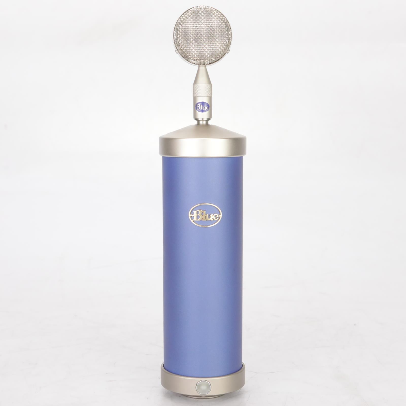 Blue Bottle Tube Microphone & Bottle Cap Kit 9 Capsules w/ Cases #38606