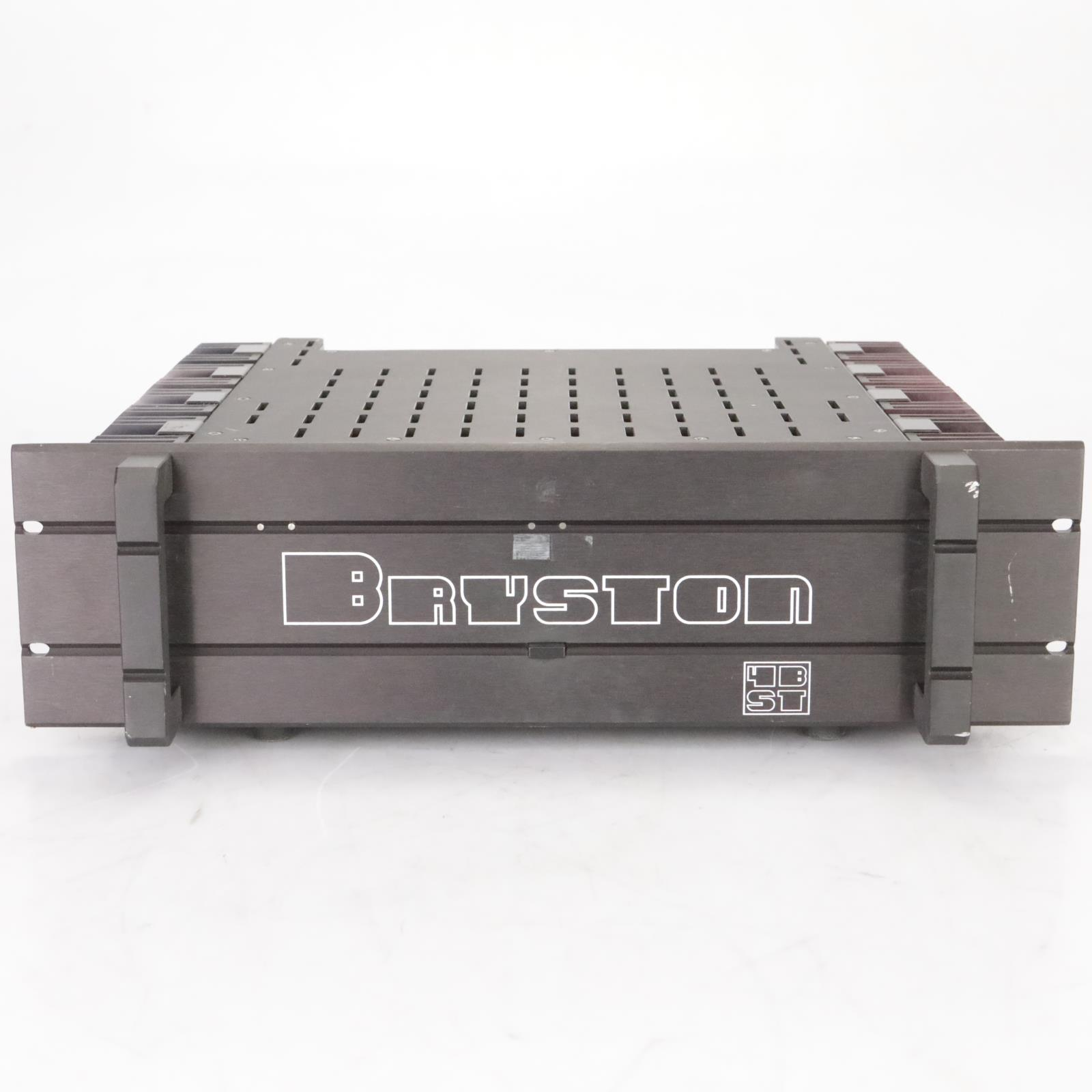 Bryston 4B ST Stereo Solid State Power Amplifier #38632