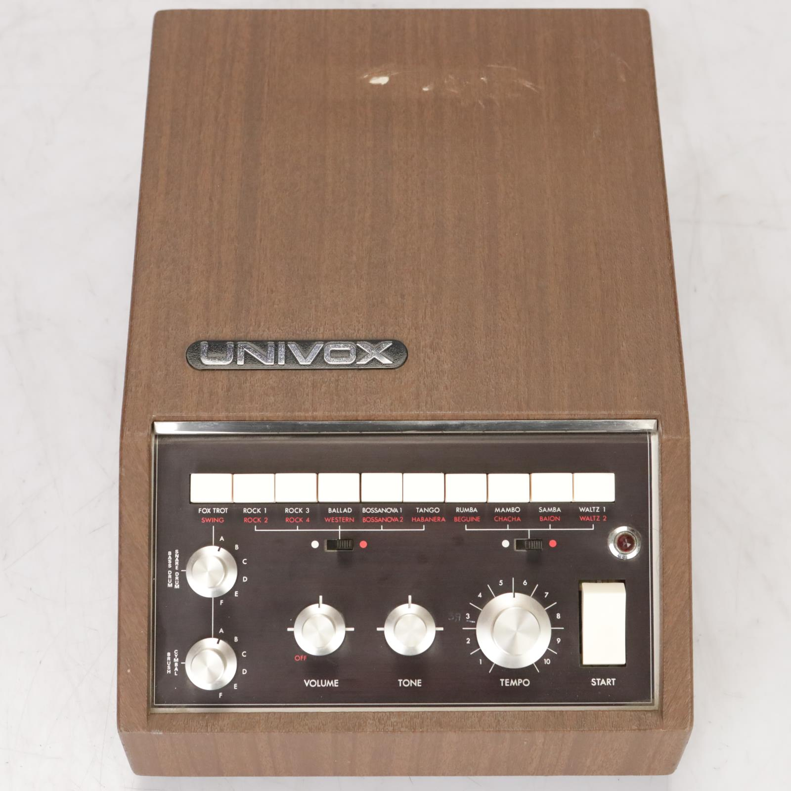 Univox SR-55 Analog Rhythm Drum Machine Owned by Leland Sklar #38770