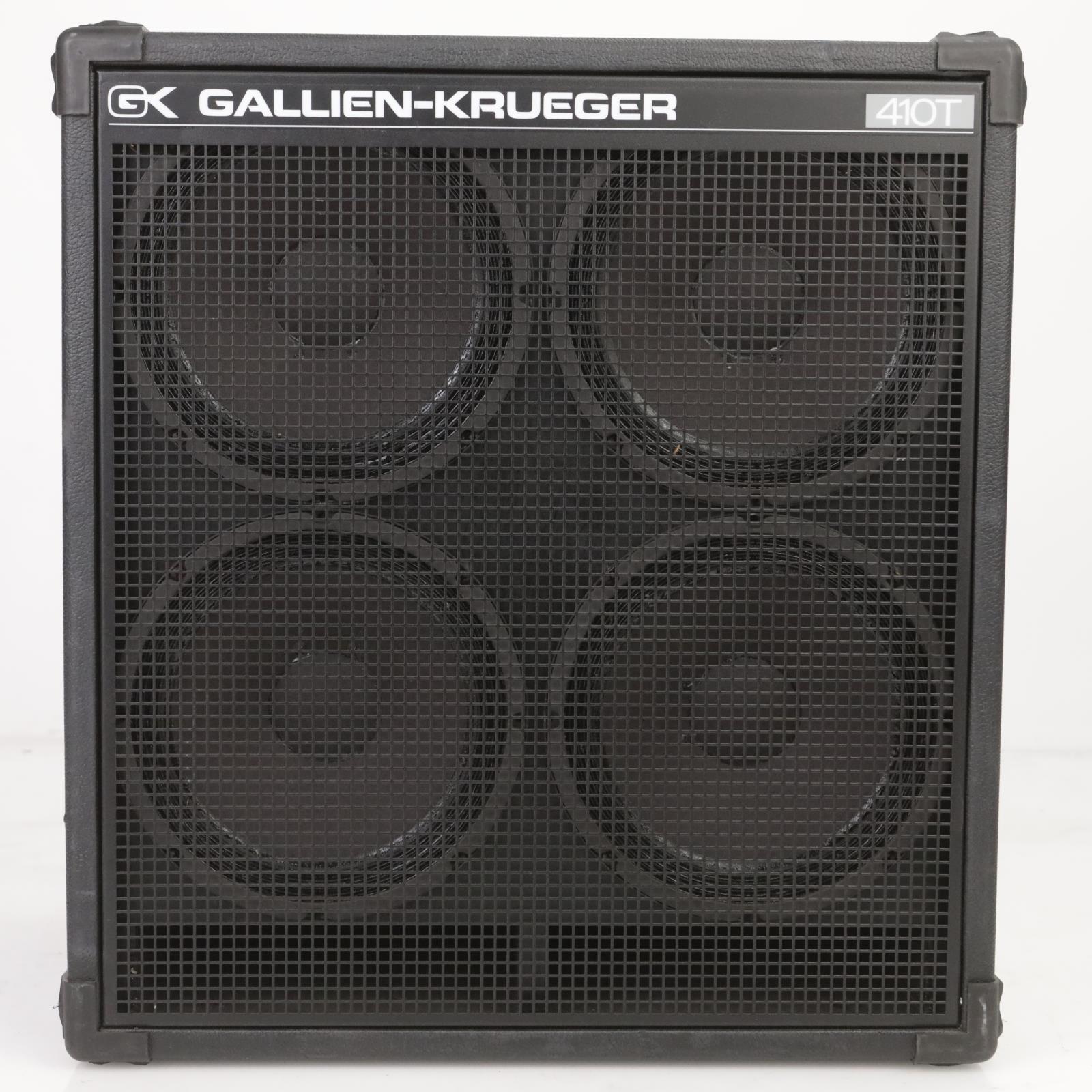 Gallien-Krueger GK 410T Bass Cabinet Owned And Signed By Leland Sklar #38801