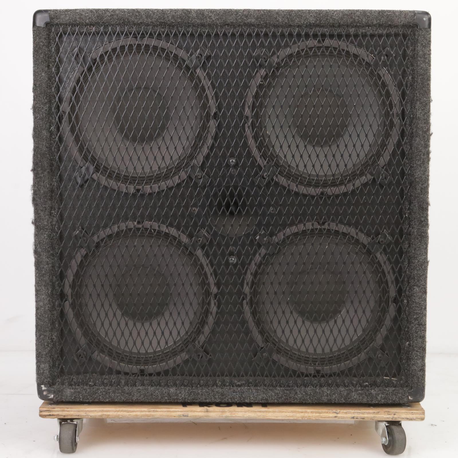 Genz Benz Eminence 410T Speaker Cabinet 400W 8 Ohms Owned By Leland Sklar #38790