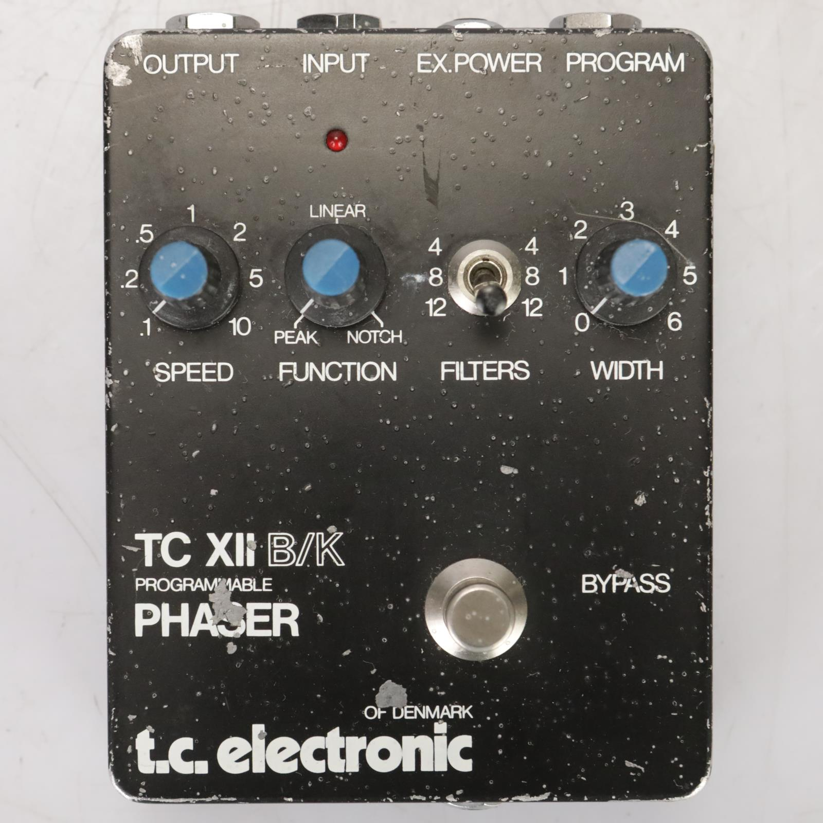 TC Electronic TC XII B/K Programmable Phaser Pedal Owned by Leland Sklar #38853