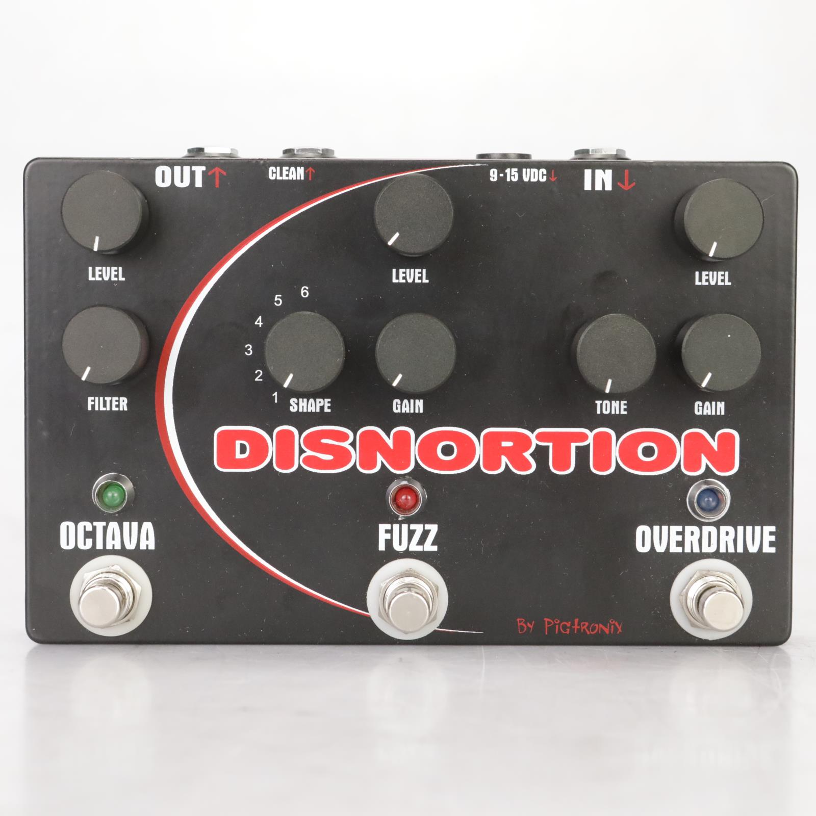 Pigtronix Disnortion Overdrive Fuzz Octava Pedal Owned by Leland Sklar #38860
