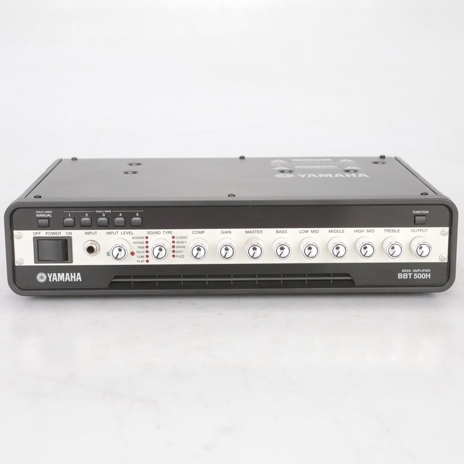 Yamaha BBT500H Bass Amplifier Head owned by Leland Sklar #38825